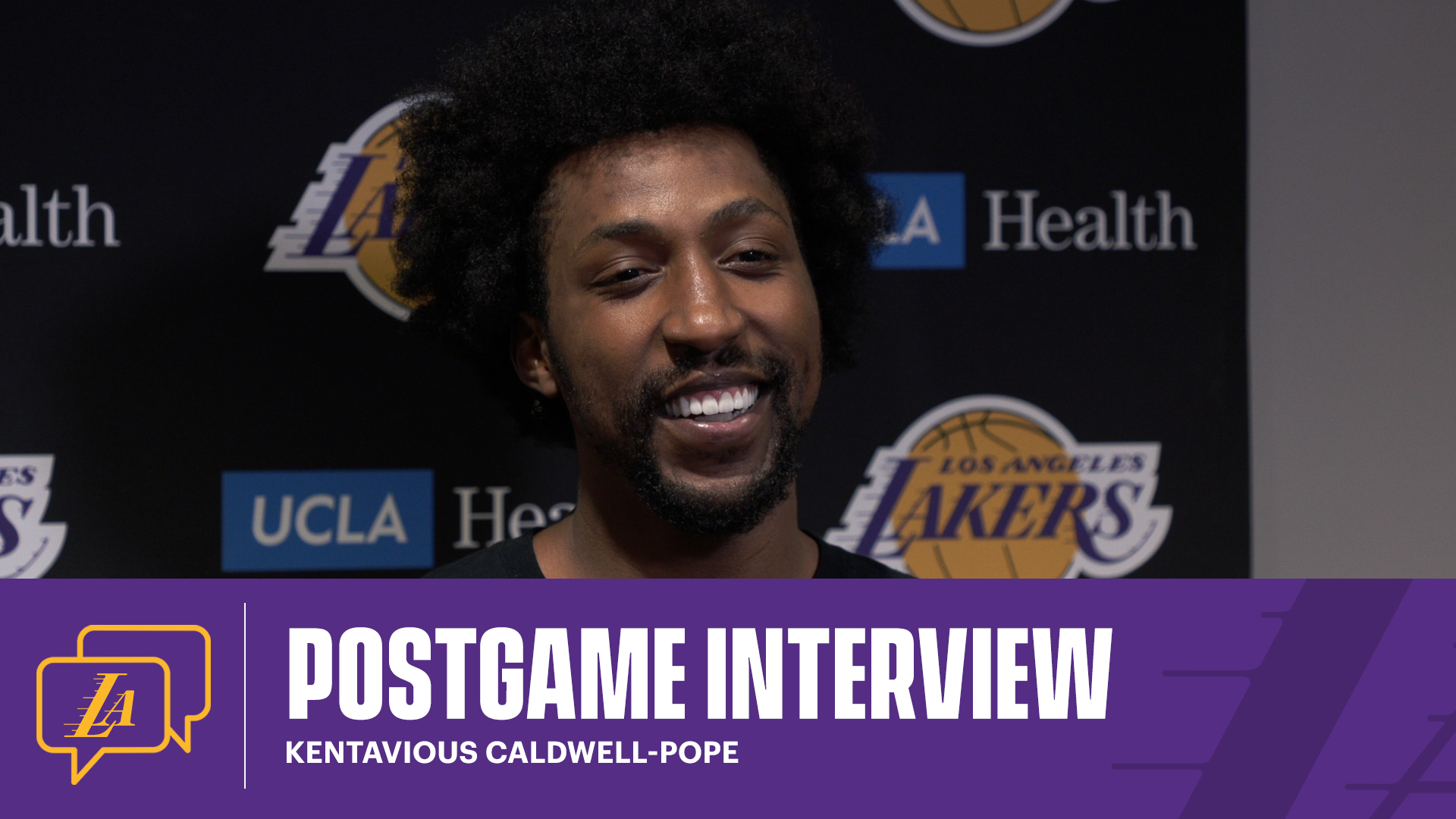 Lakers Postgame: Kentavious Caldwell-Pope (4/2/21)