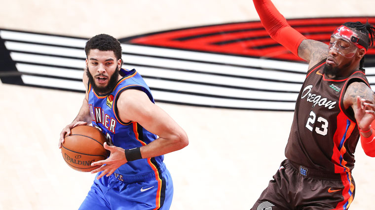 Highlights: Thunder at Trail Blazers