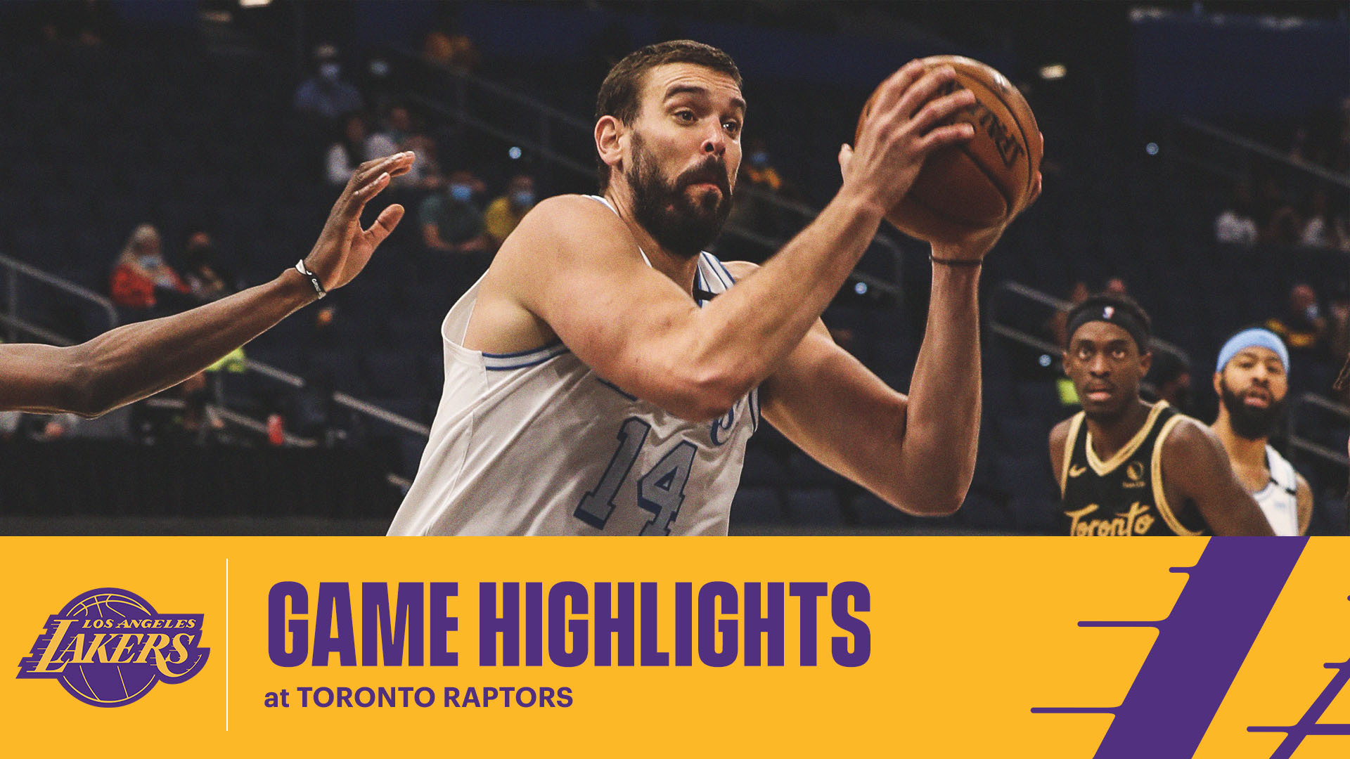 HIGHLIGHTS | Marc Gasol (13 pts, 9 reb, 4 blk) at Toronto Raptors
