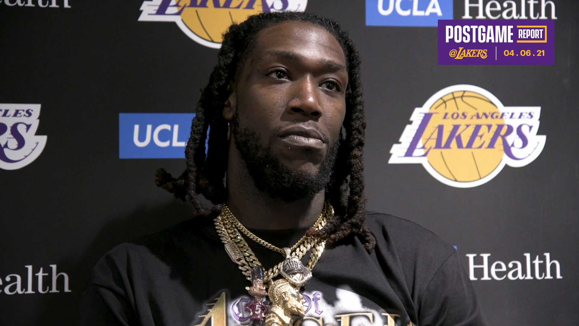 Lakers Postgame: Montrezl Harrell (4/6/21)