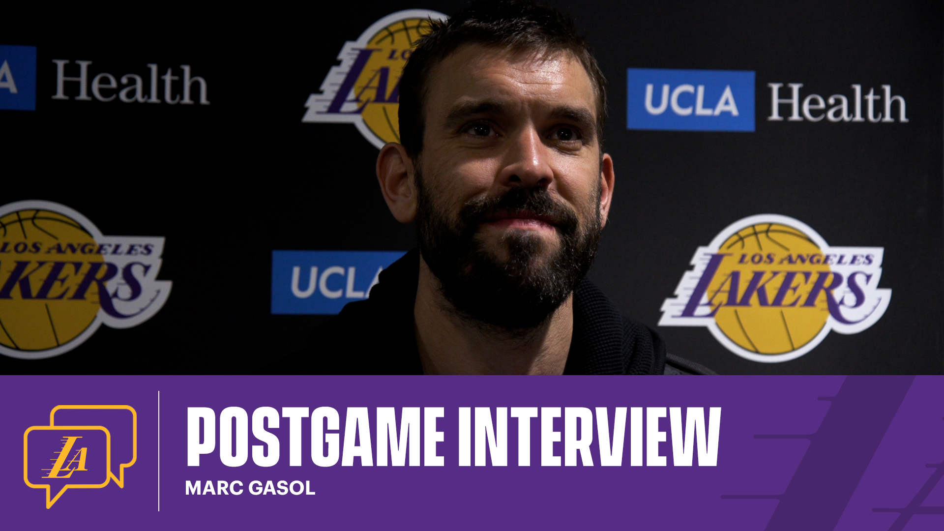 Lakers Postgame: Marc Gasol (4/6/21)