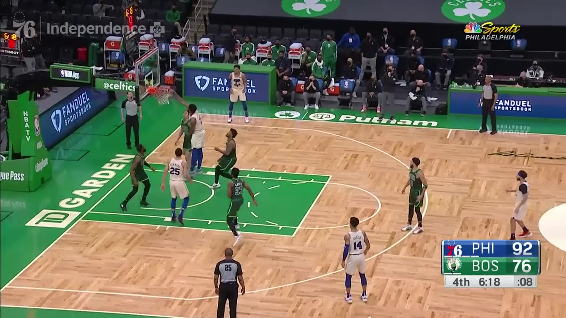 Joel Embiid | Highlights @ Boston Celtics (04.06.21)