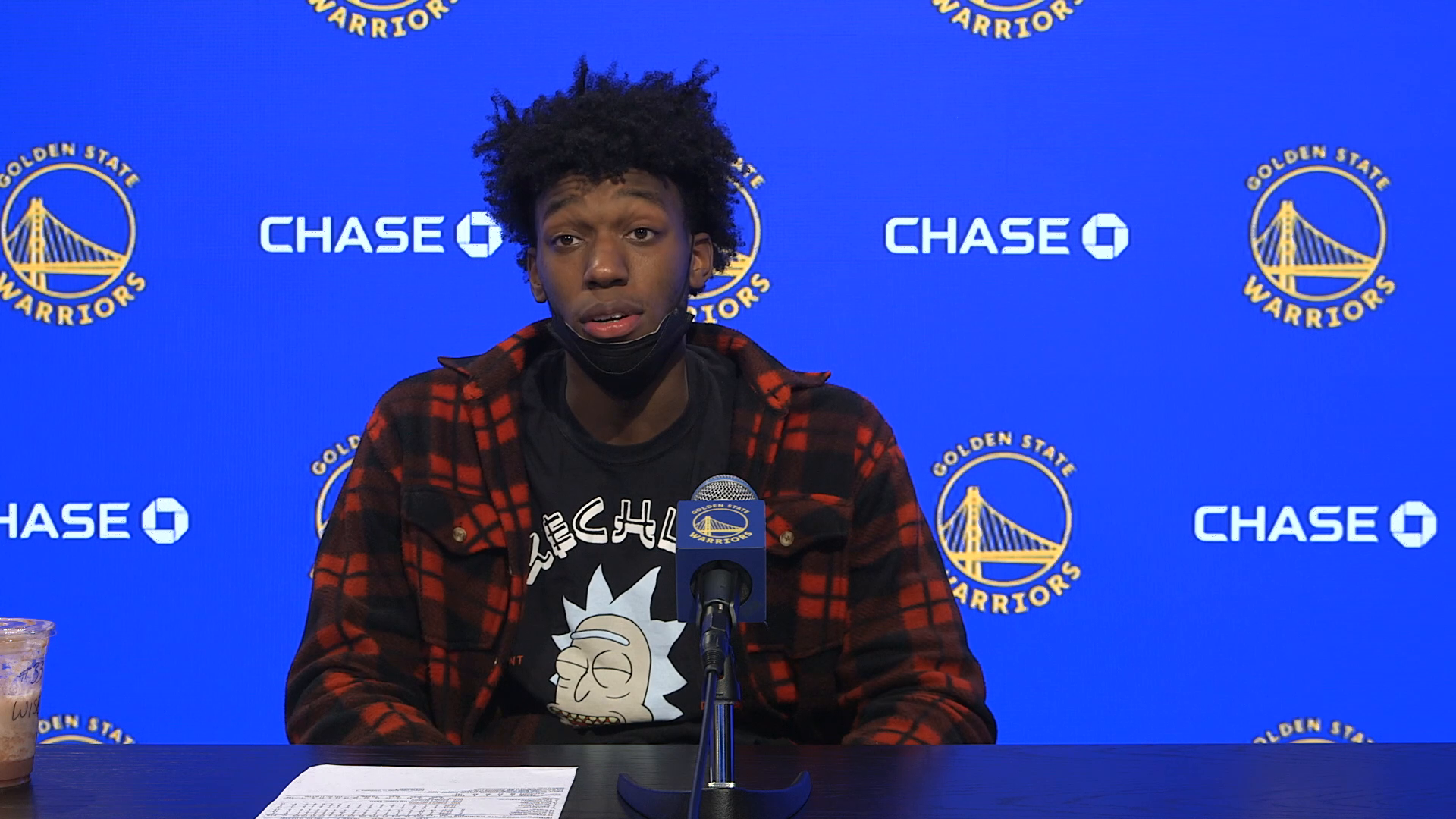 Postgame Warriors Talk: James Wiseman - 4/6/21