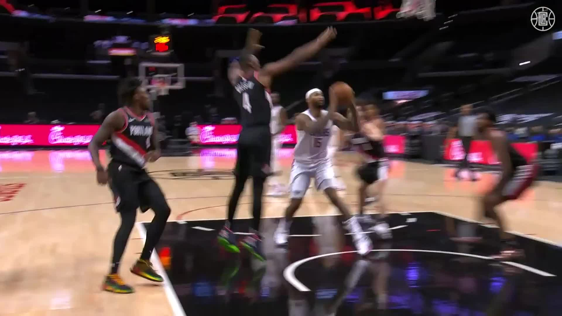DeMarcus Cousins 7 Pts, 4 Reb, 2 Ast in Debut vs Trail Blazers | (4.6.21)