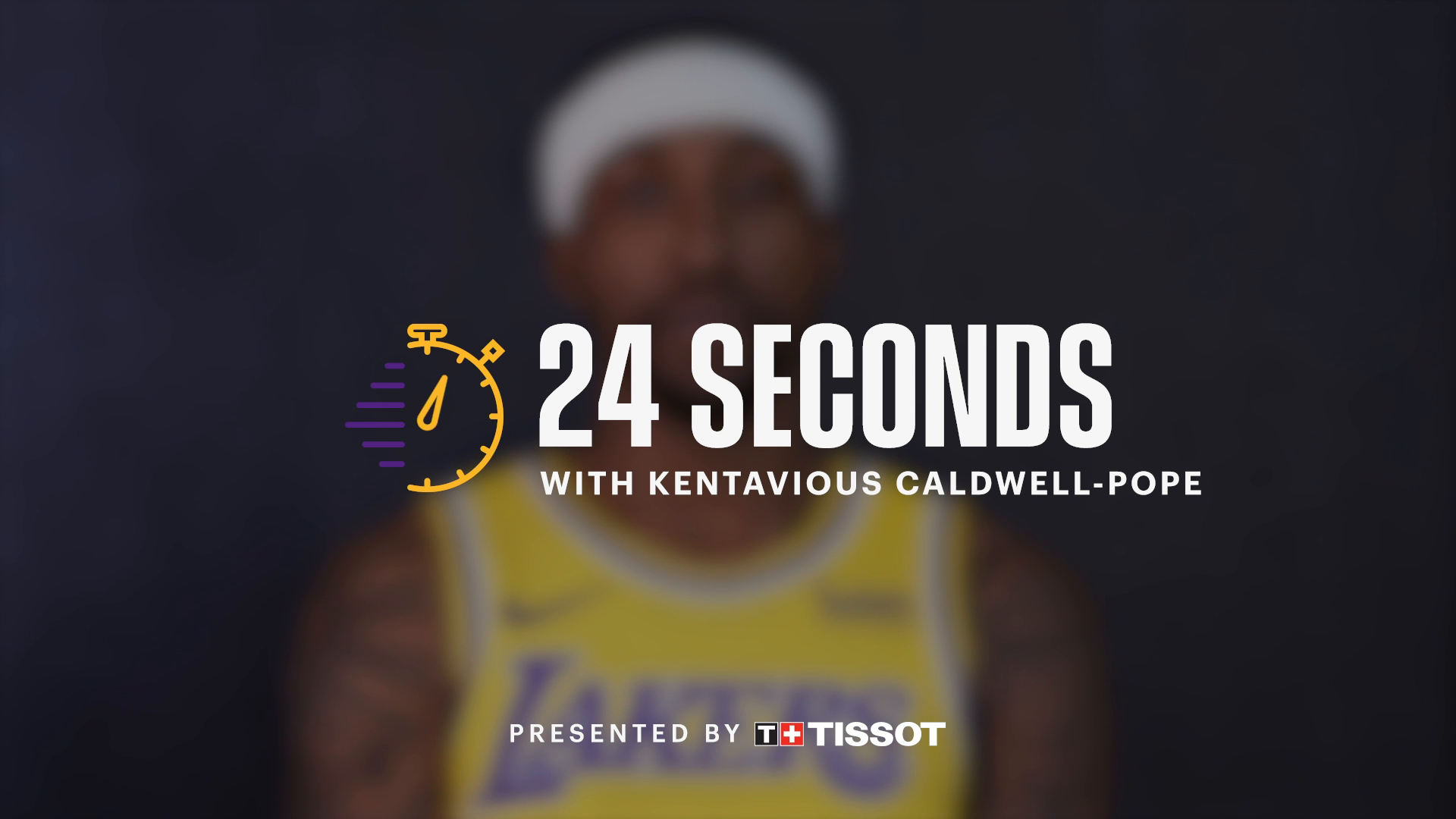 24 Seconds with: Kentavious Caldwell-Pope