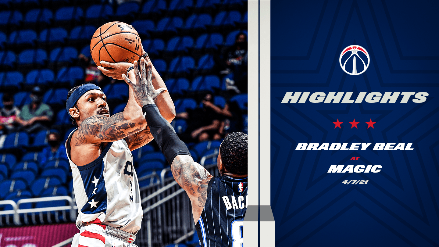 Highlights: Bradley Beal at Magic - 4/7/21
