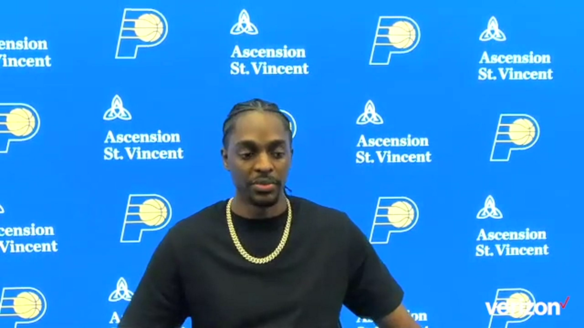 Postgame: Pacers Locker Room – April 7, 2021