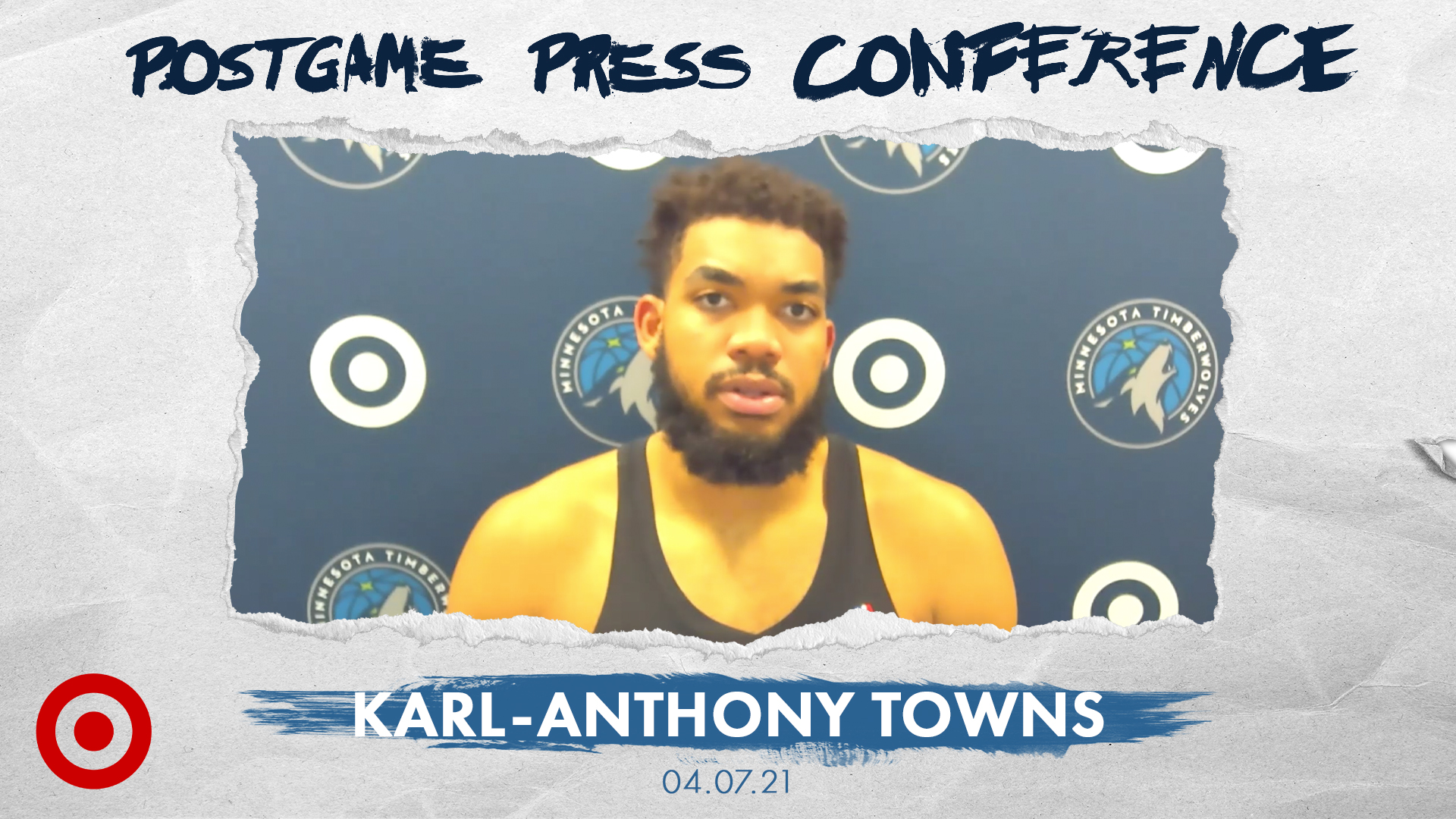 Karl-Anthony Towns Postgame Press Conference - April 7, 2021