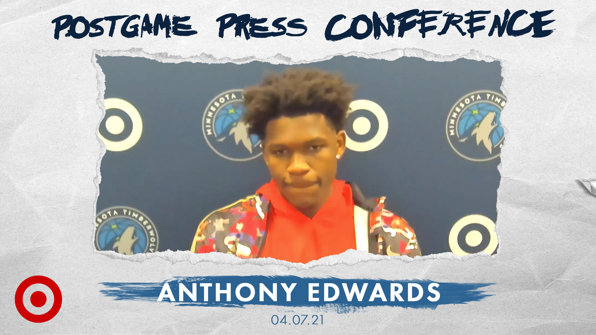 Anthony Edwards Postgame Press Conference - April 7, 2021