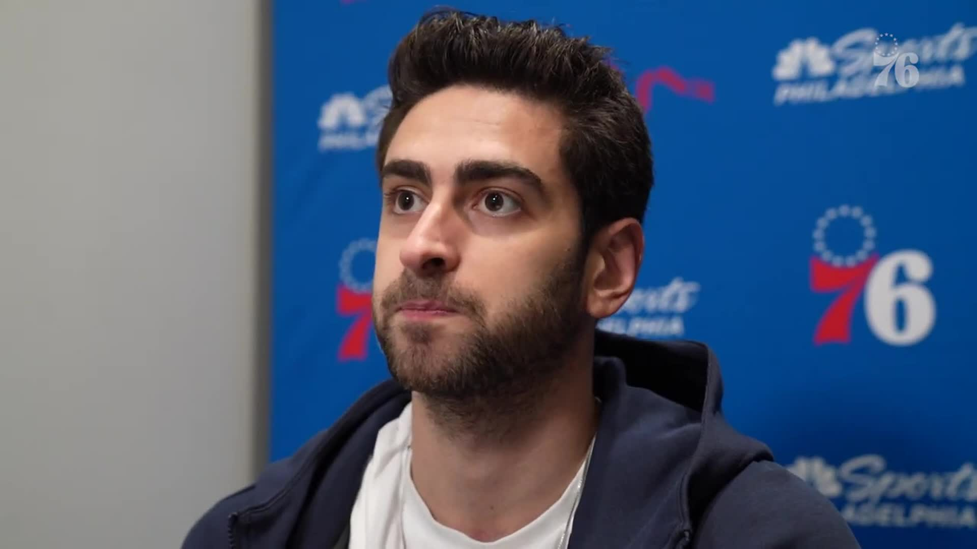 Furkan Korkmaz | Postgame Media @ Boston Celtics (04.06.21)
