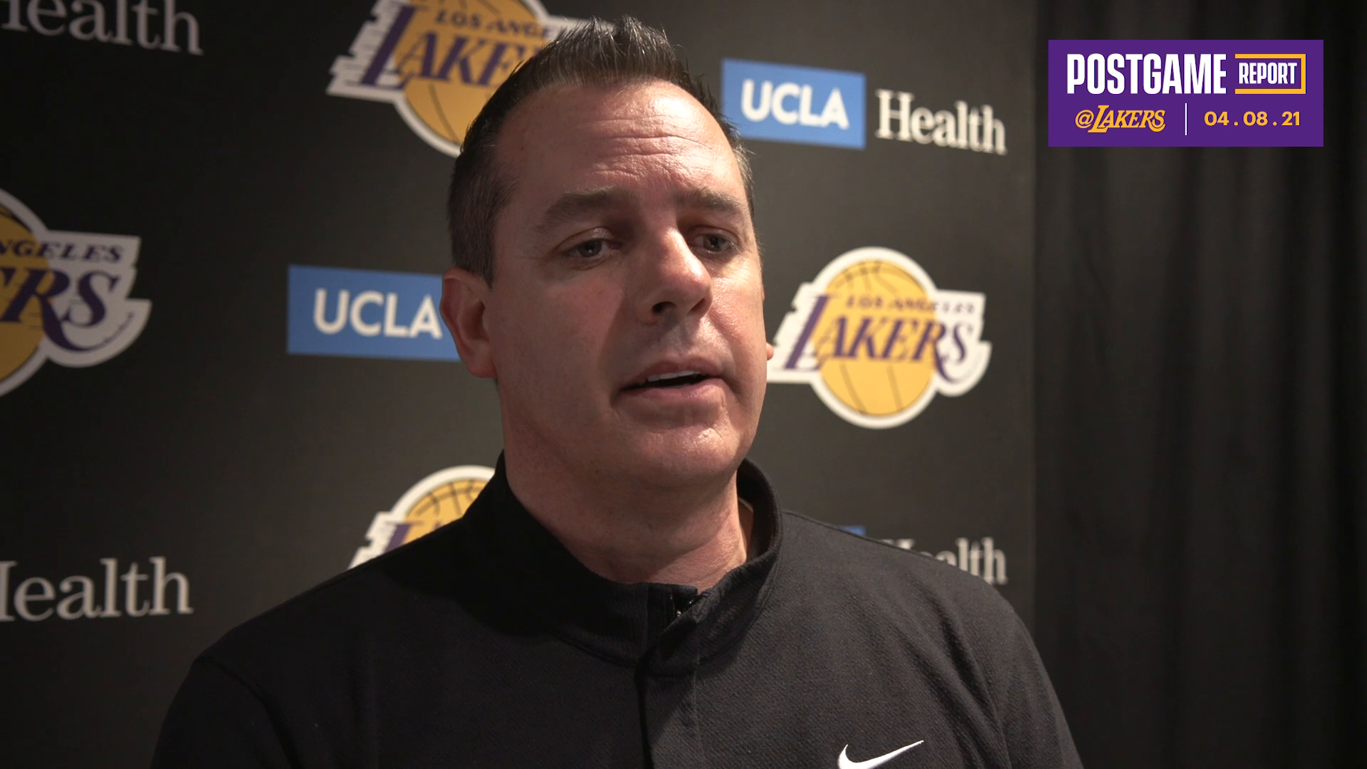 Lakers Postgame: Frank Vogel (4/8/21)