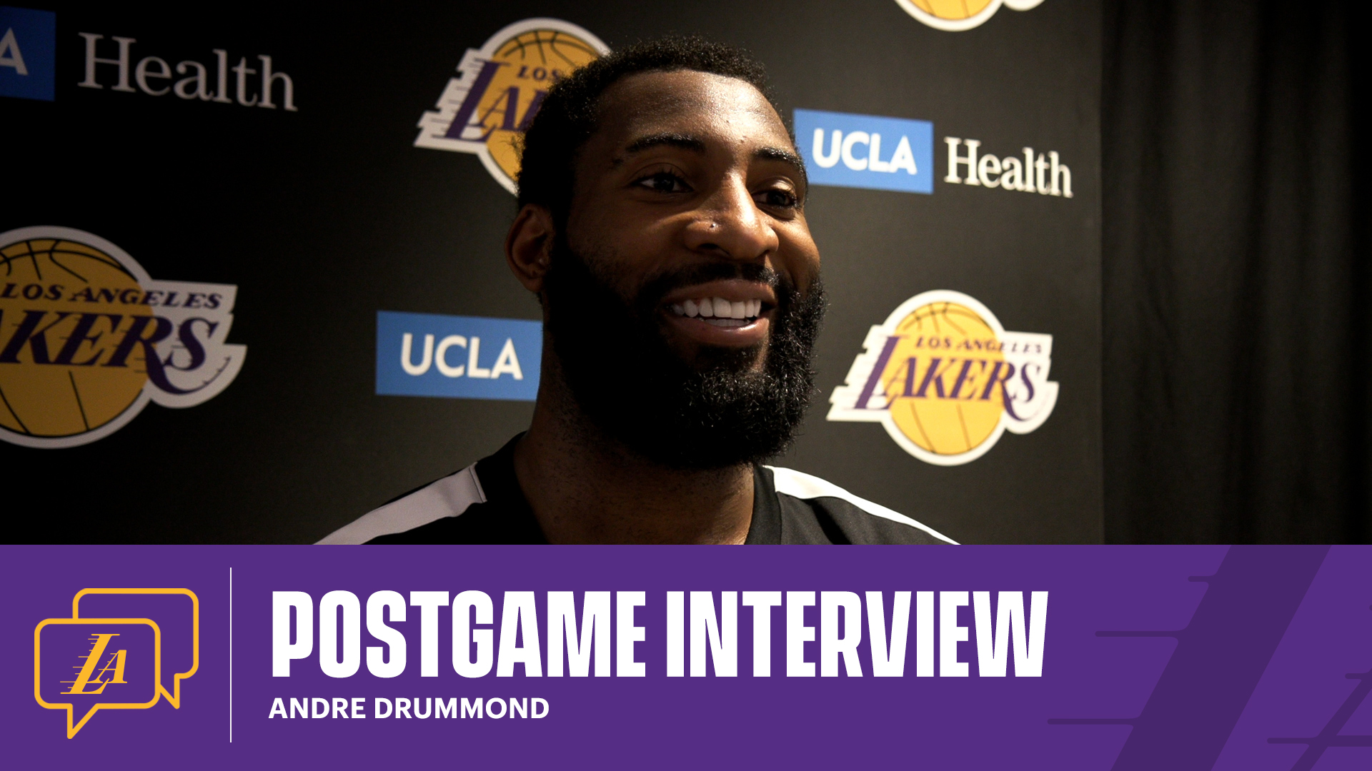 Lakers Postgame: Andre Drummond (4/8/21)