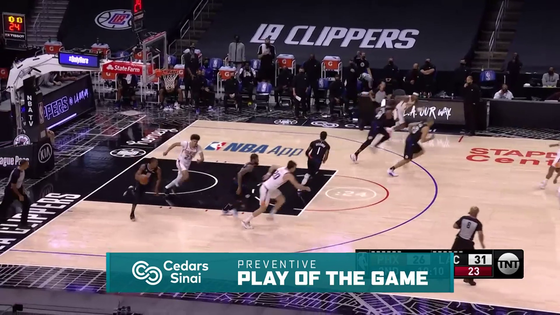 Cedars-Sinai Preventive Play of the Game | Clippers vs Suns (4.8.21)