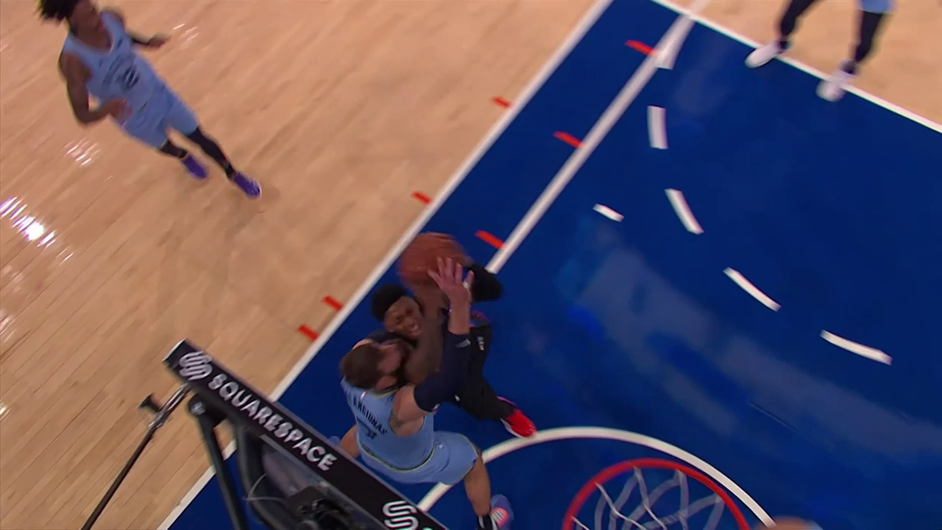 Jonas Valanciunas is not a force to reckon with!