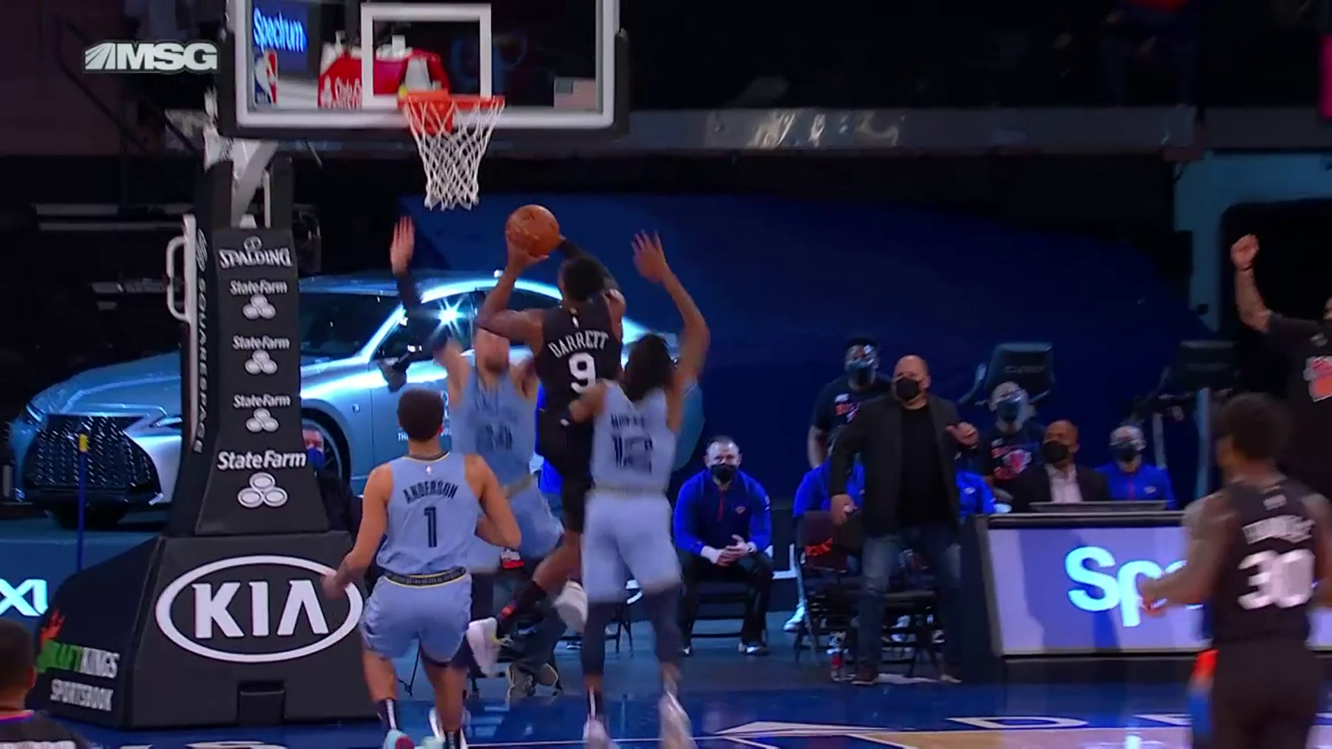 Ja Morant says NO with a monster chase down block!