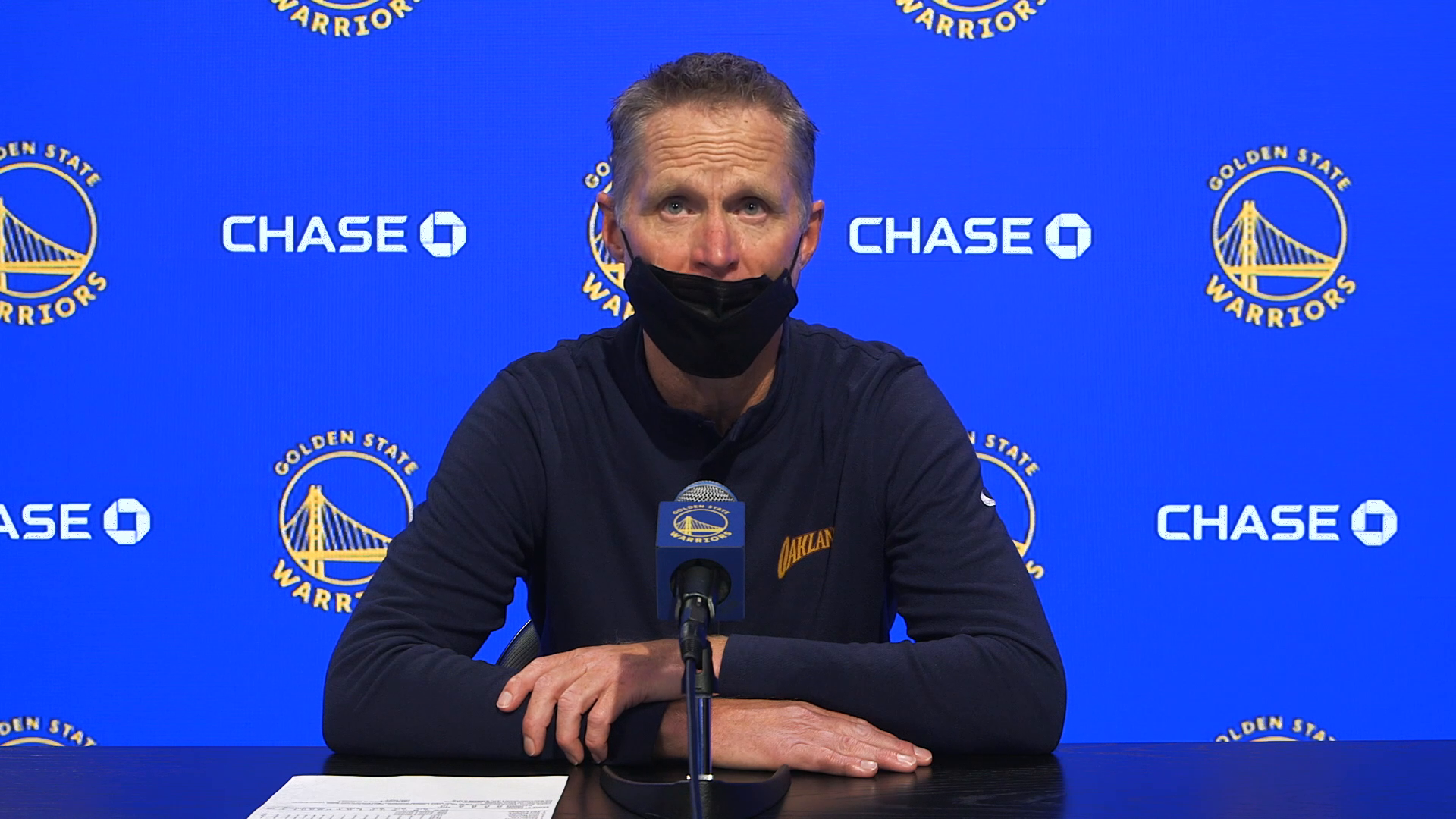 Postgame Warriors Talk: Steve Kerr - 4/9/21