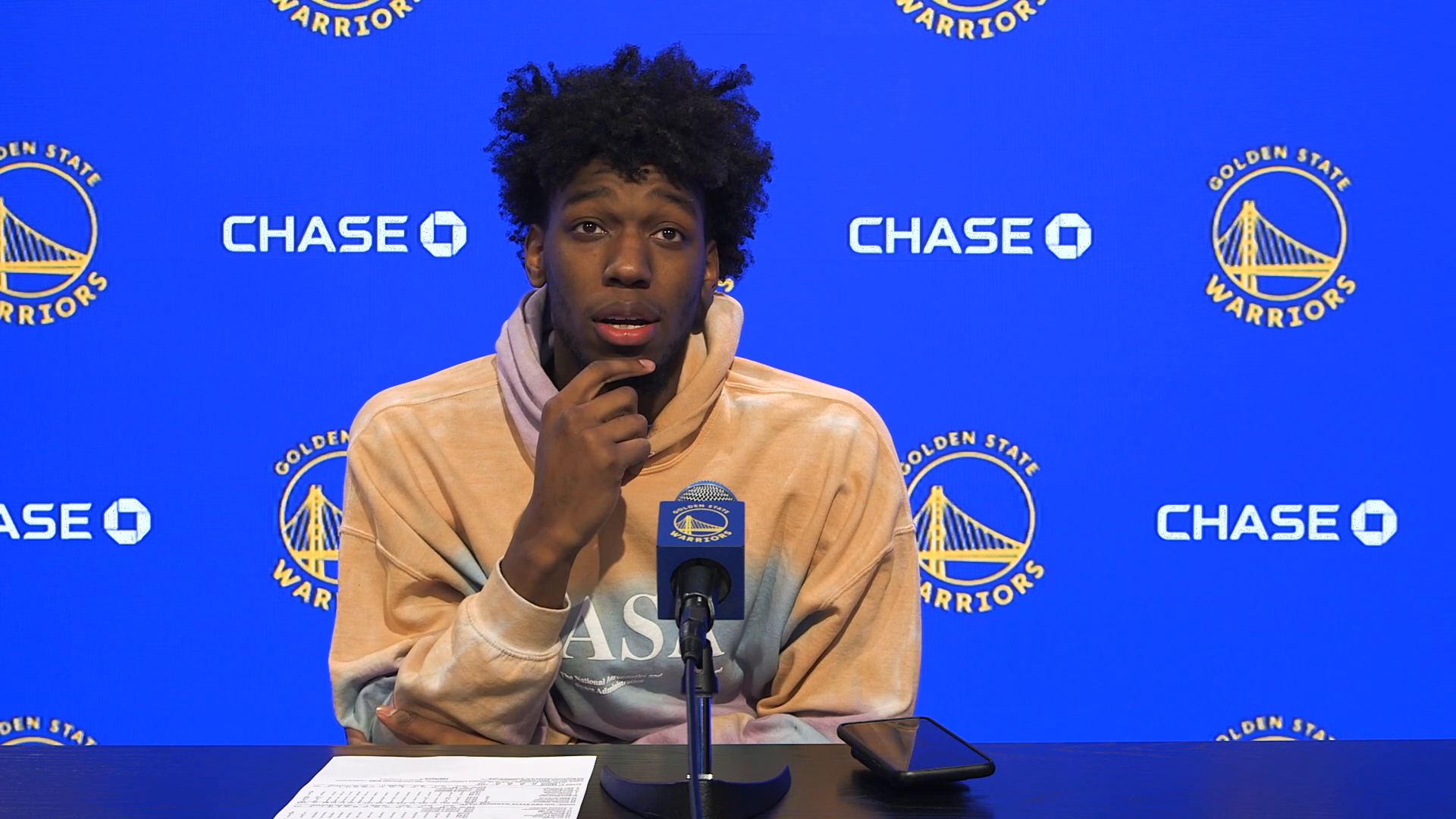 Postgame Warriors Talk: James Wiseman - 4/9/21