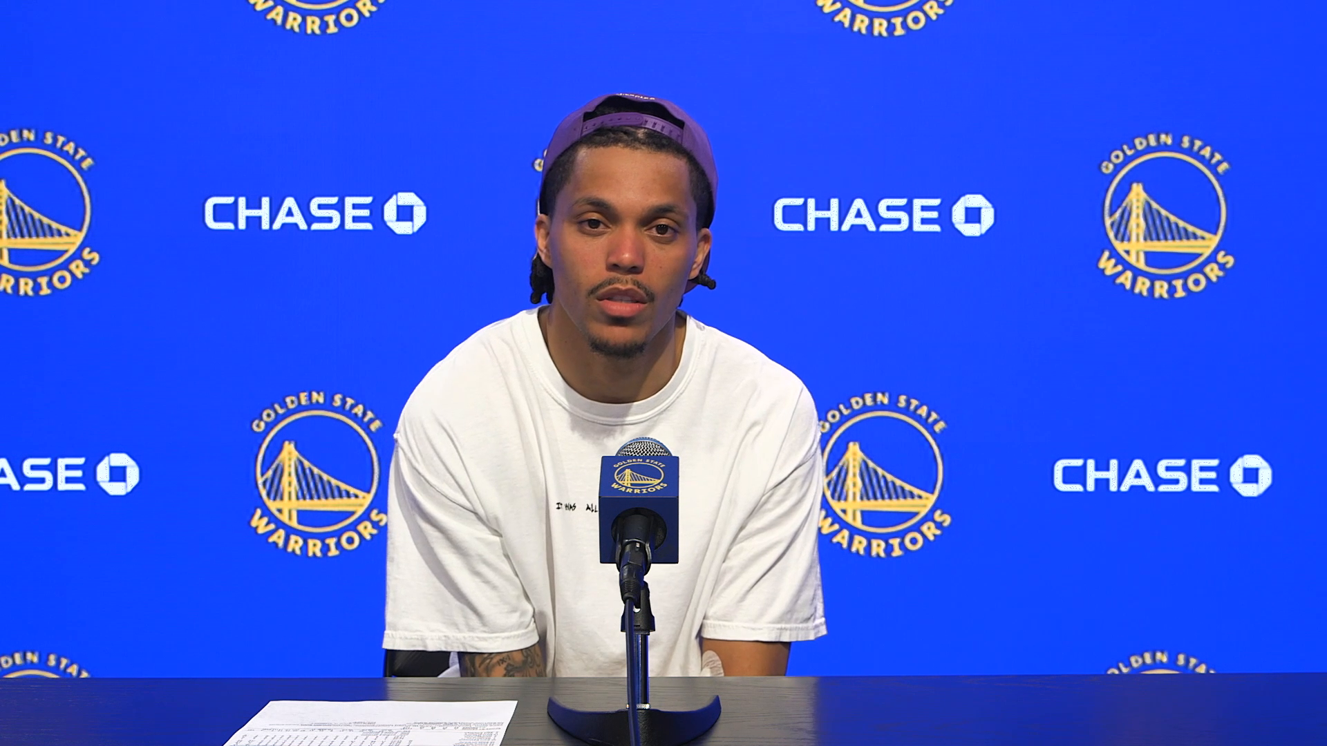 Postgame Warriors Talk: Damion Lee - 4/9/21