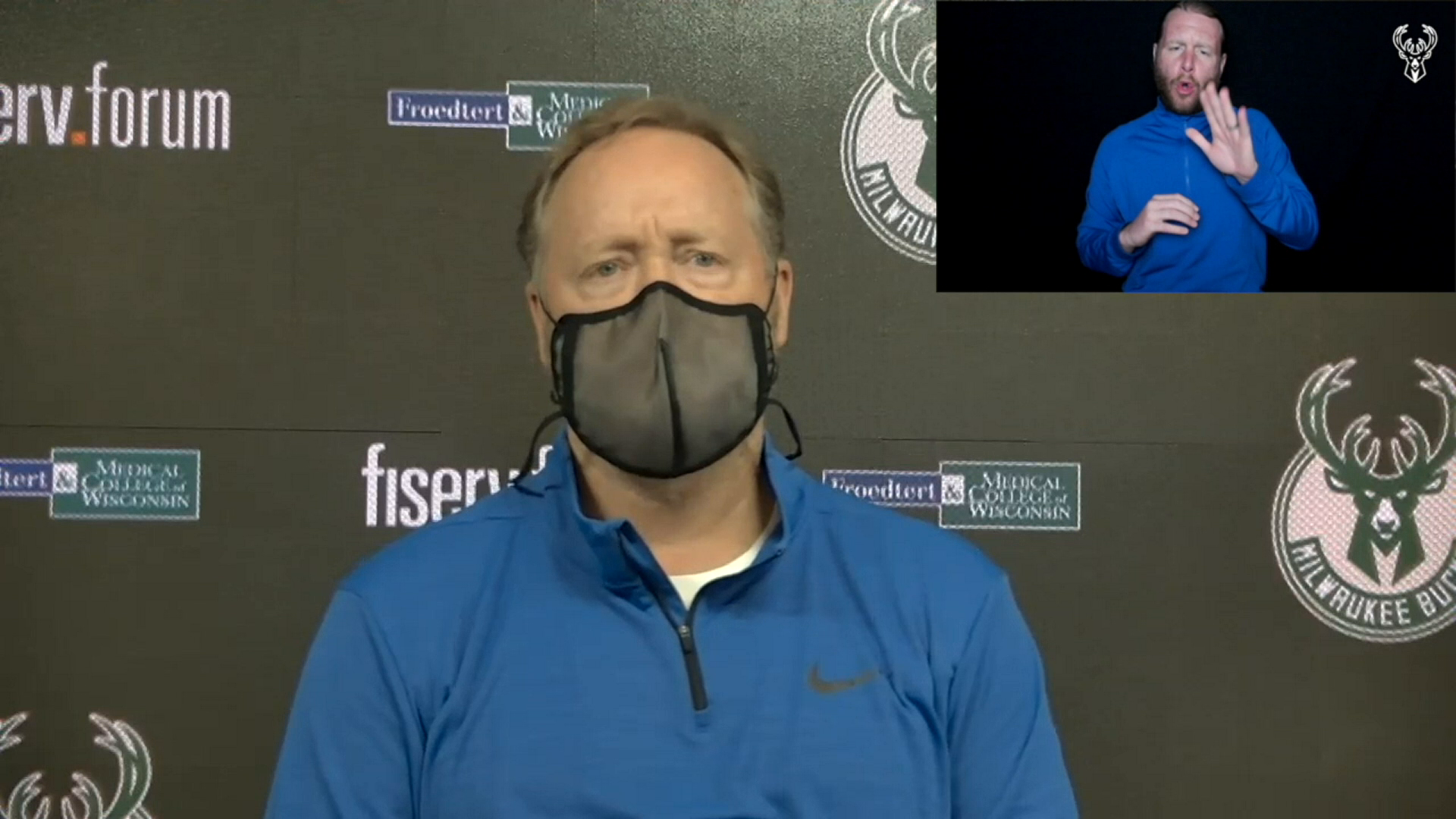 Coach Budenholzer ASL Press Conference | 4.9.21