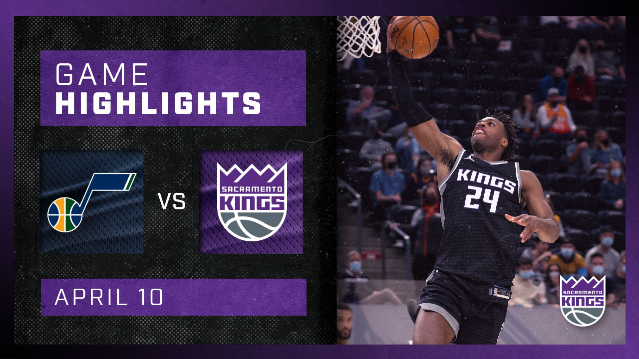 Sactown Battles The League's Best in Utah | Kings vs Jazz 4.10.21