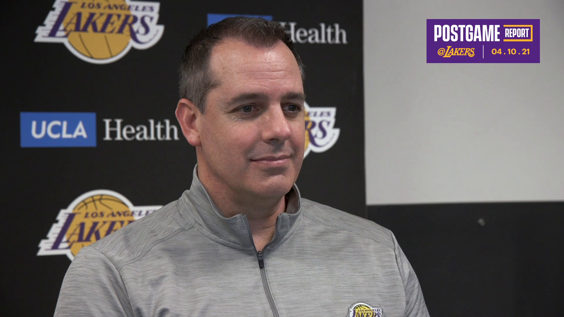 Lakers Postgame: Frank Vogel (4/10/21)
