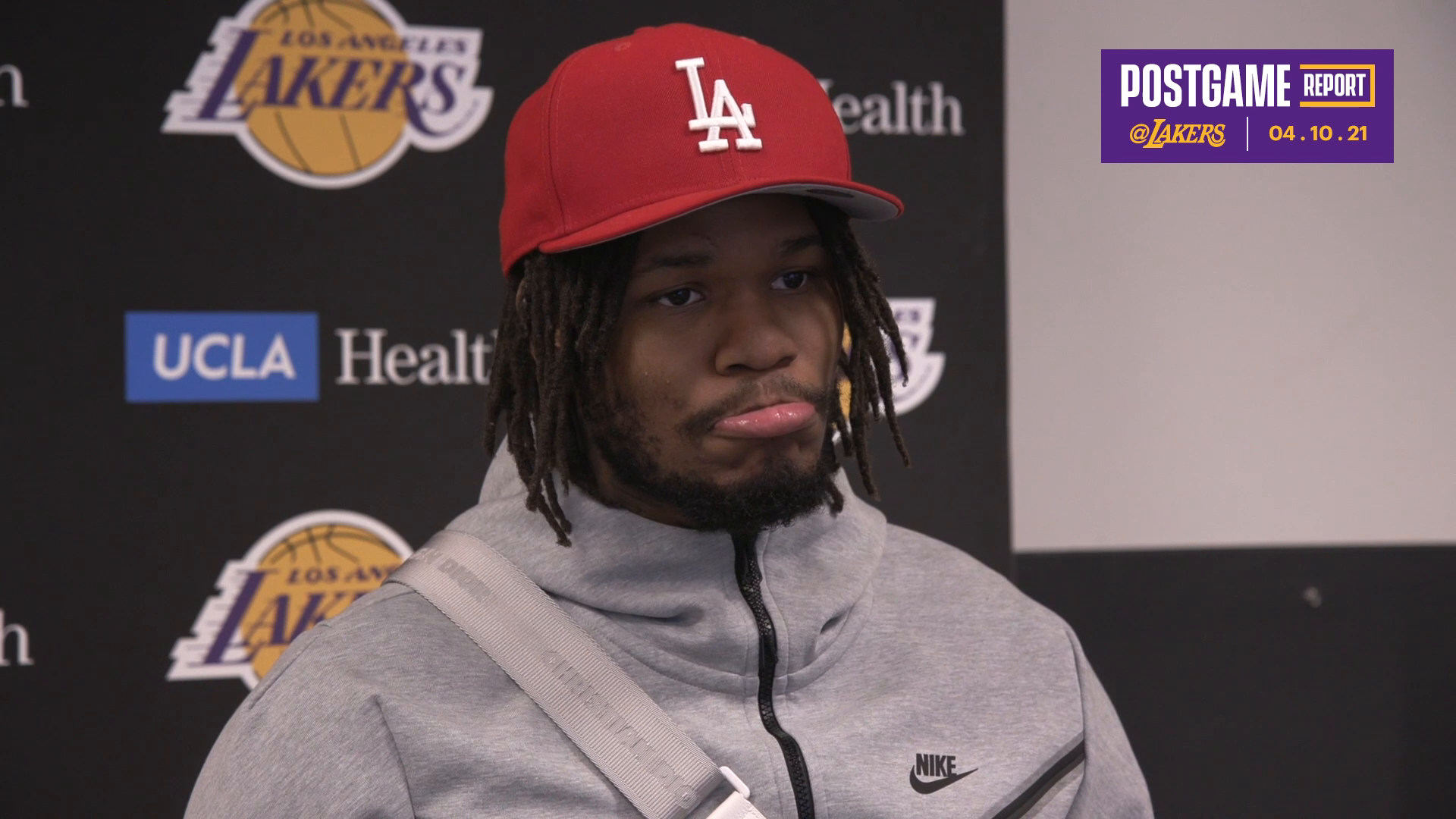 Lakers Postgame: Ben McLemore (4/10/21)