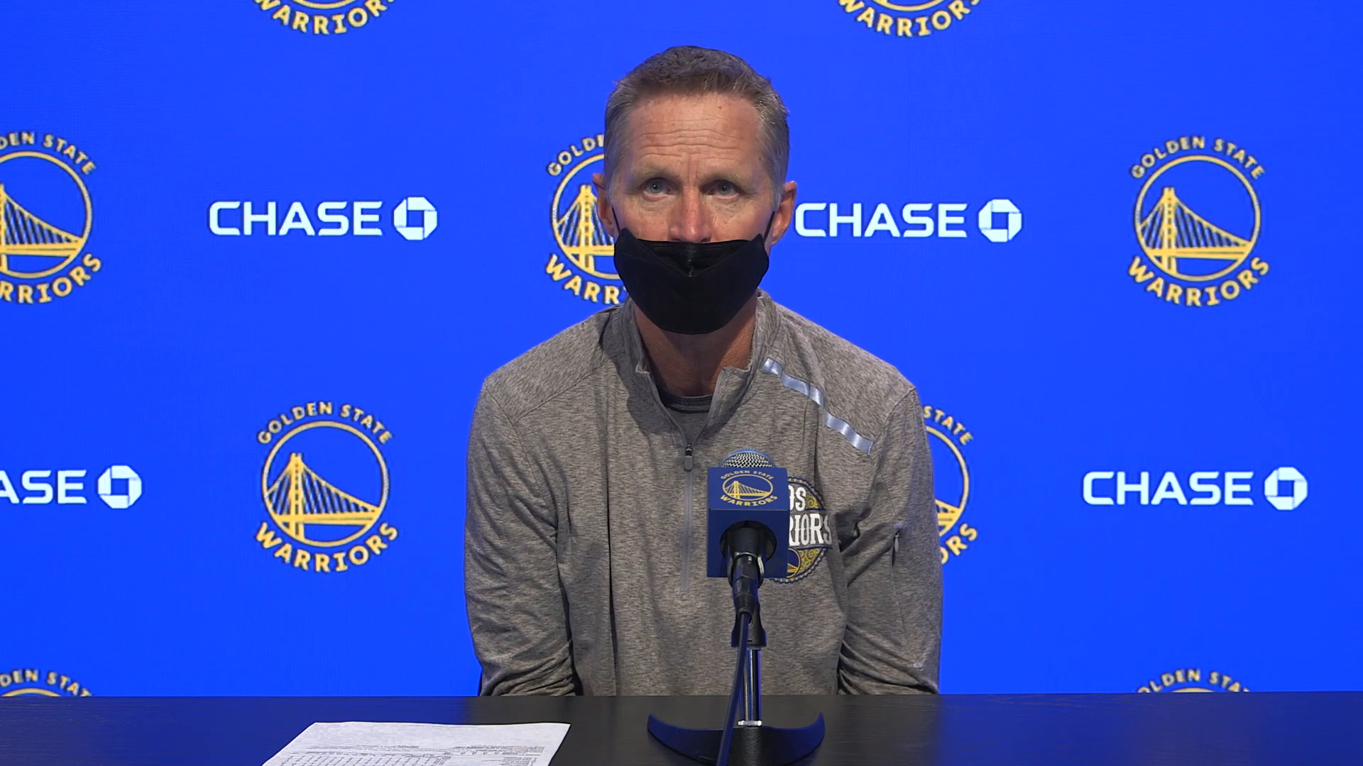 Postgame Warriors Talk: Steve Kerr - 4/10/21