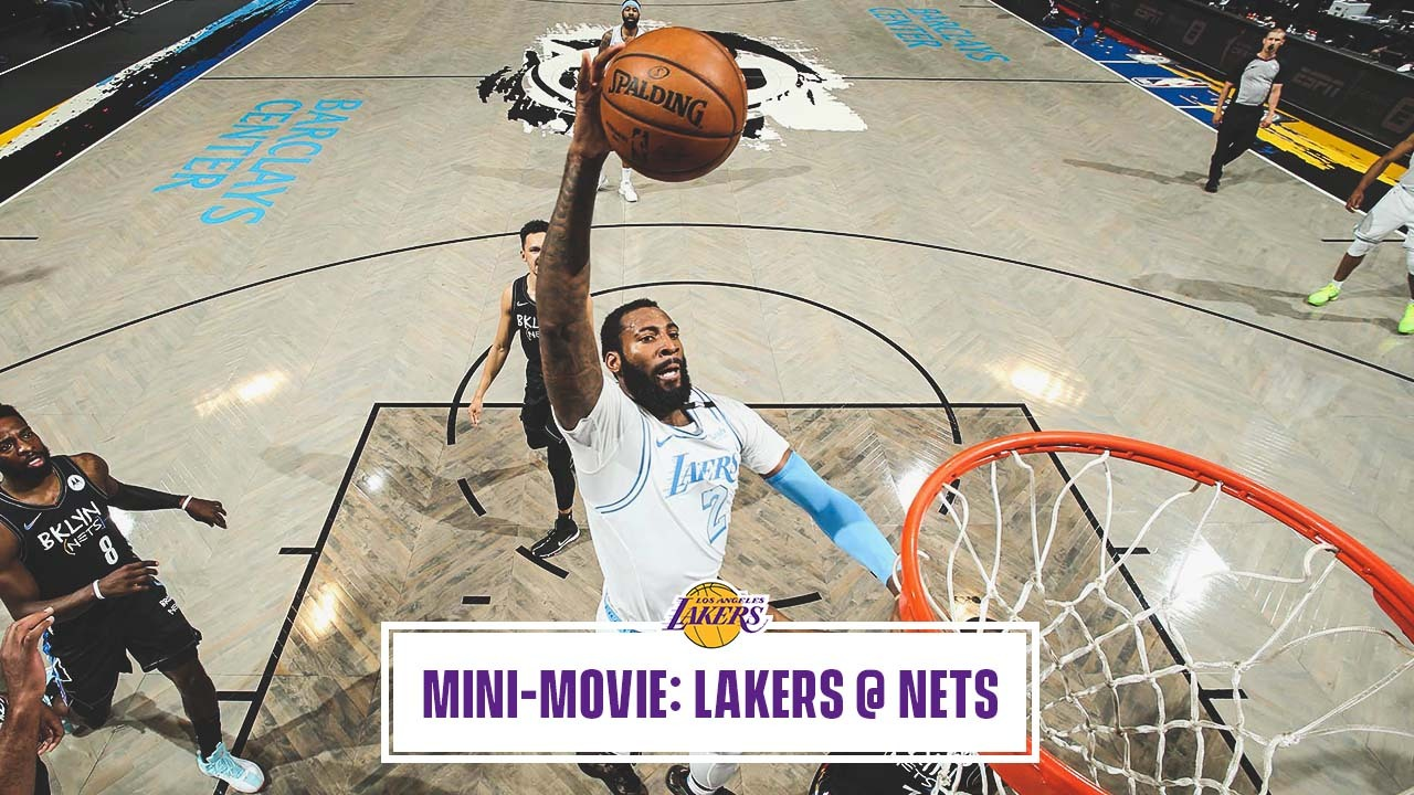 Mini-Movie: Shorthanded Lakers Knock Off Nets in Brooklyn