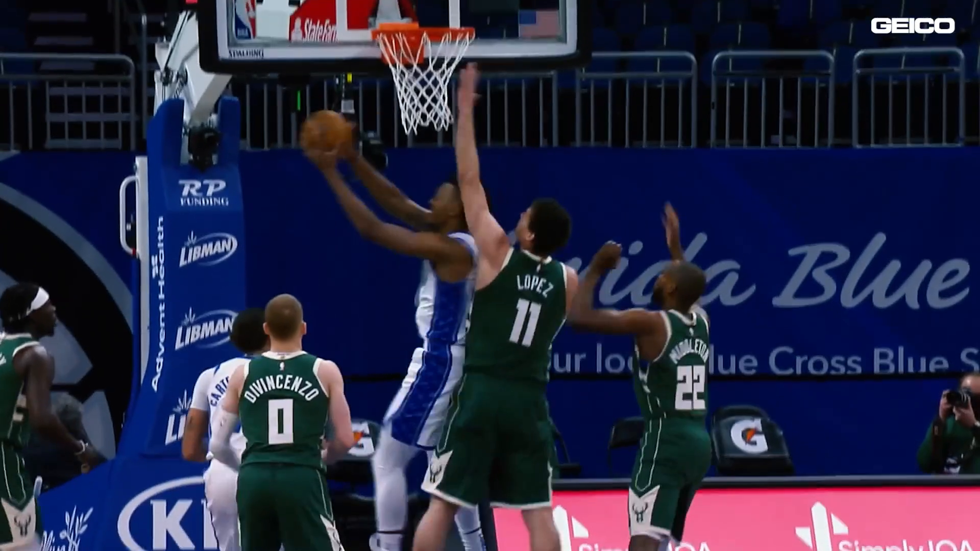 Game Highlights: Magic vs. Bucks