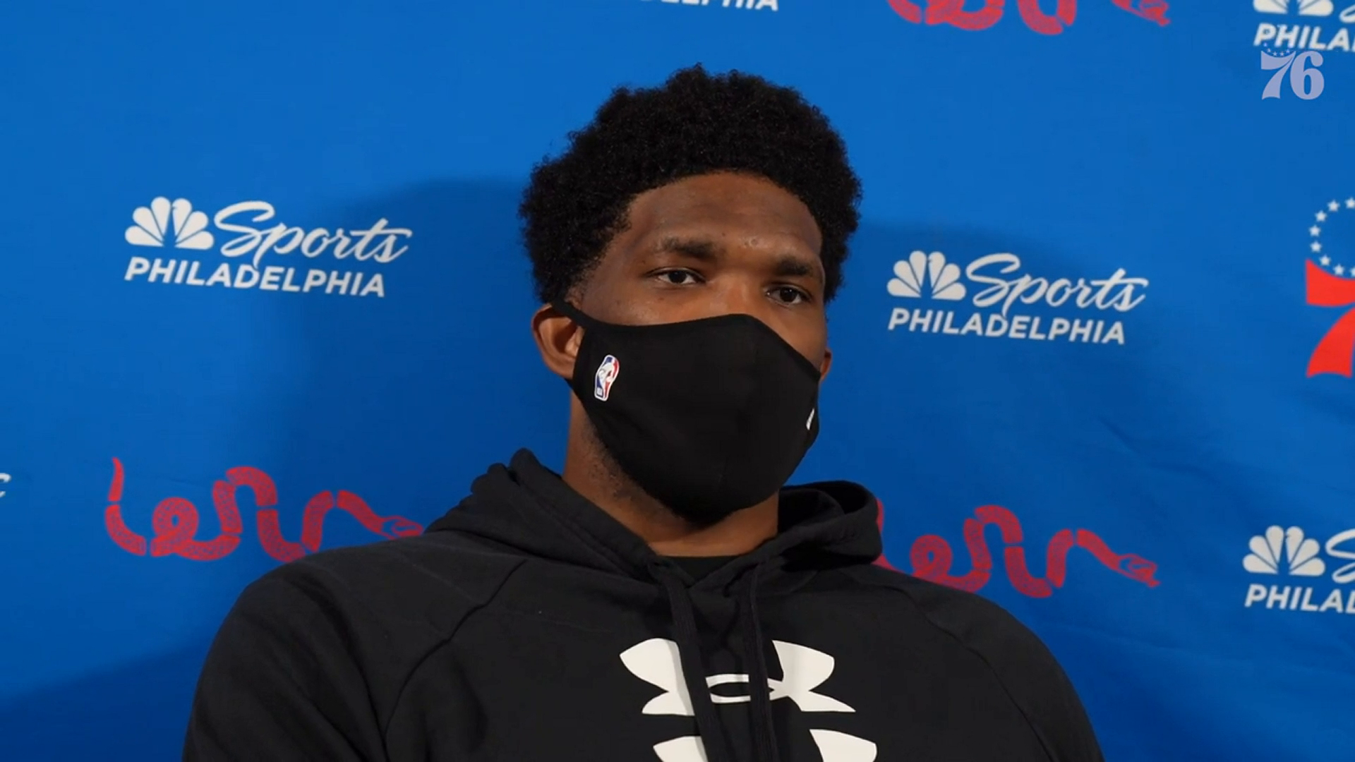 Joel Embiid | Postgame Media @ Oklahoma City Thunder (04.10.21)