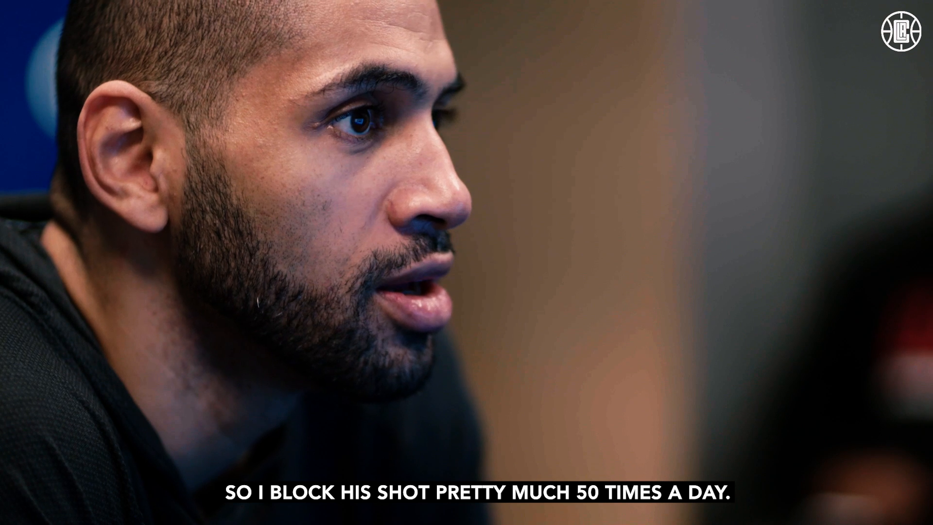 Batum on Blocking Shots | Clippers vs Pistons | (4.11.21)