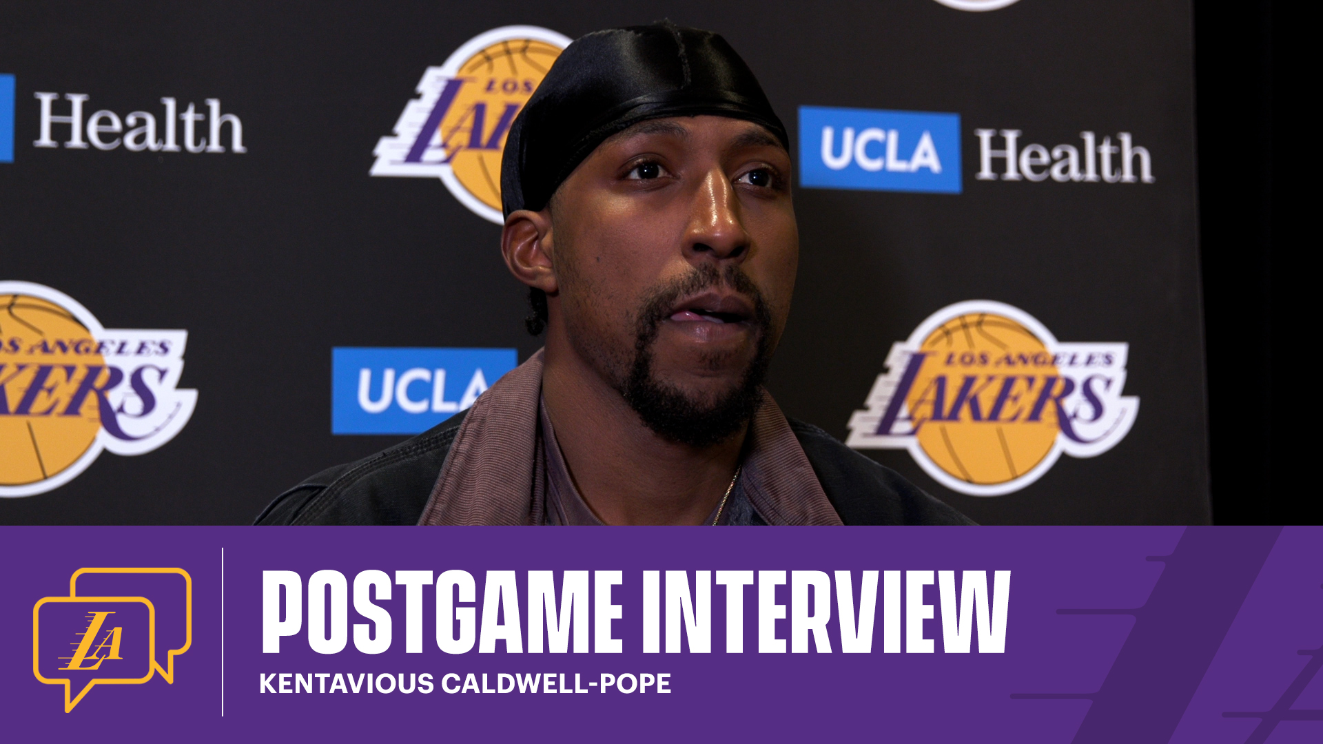 Lakers Postgame: Kentavious Caldwell-Pope (4/12/21)