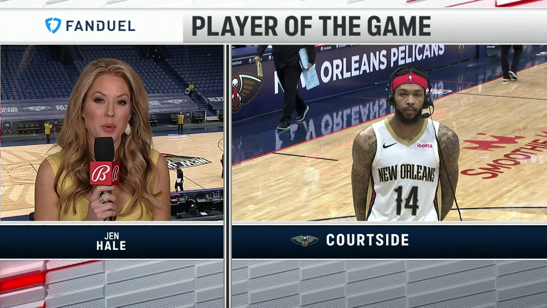 Pelicans On-Court Postgame Interview: Brandon Ingram vs. Kings 4-12-21