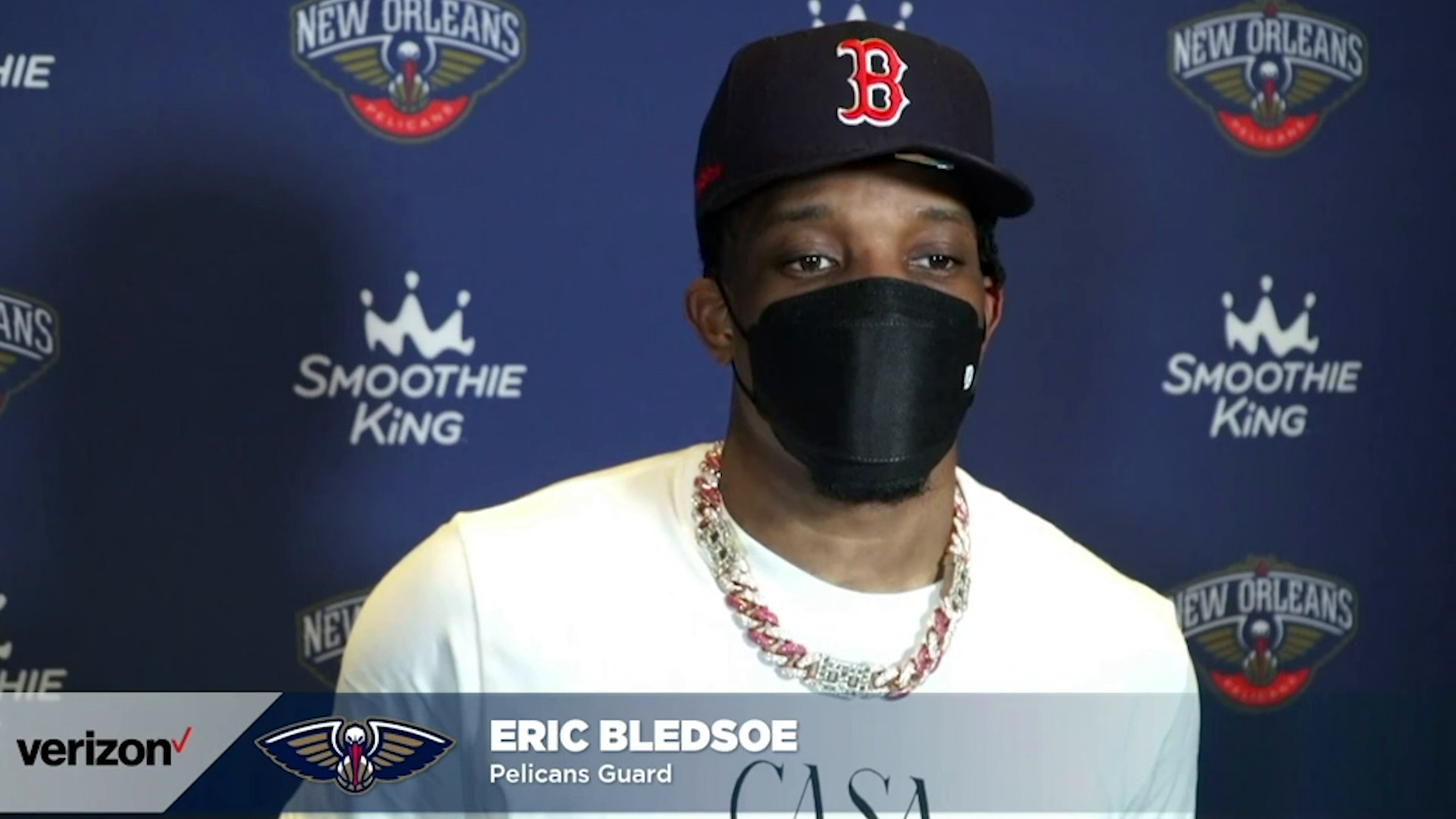 Pelicans- Kings Postgame Interview: Eric Bledsoe 4-12-21