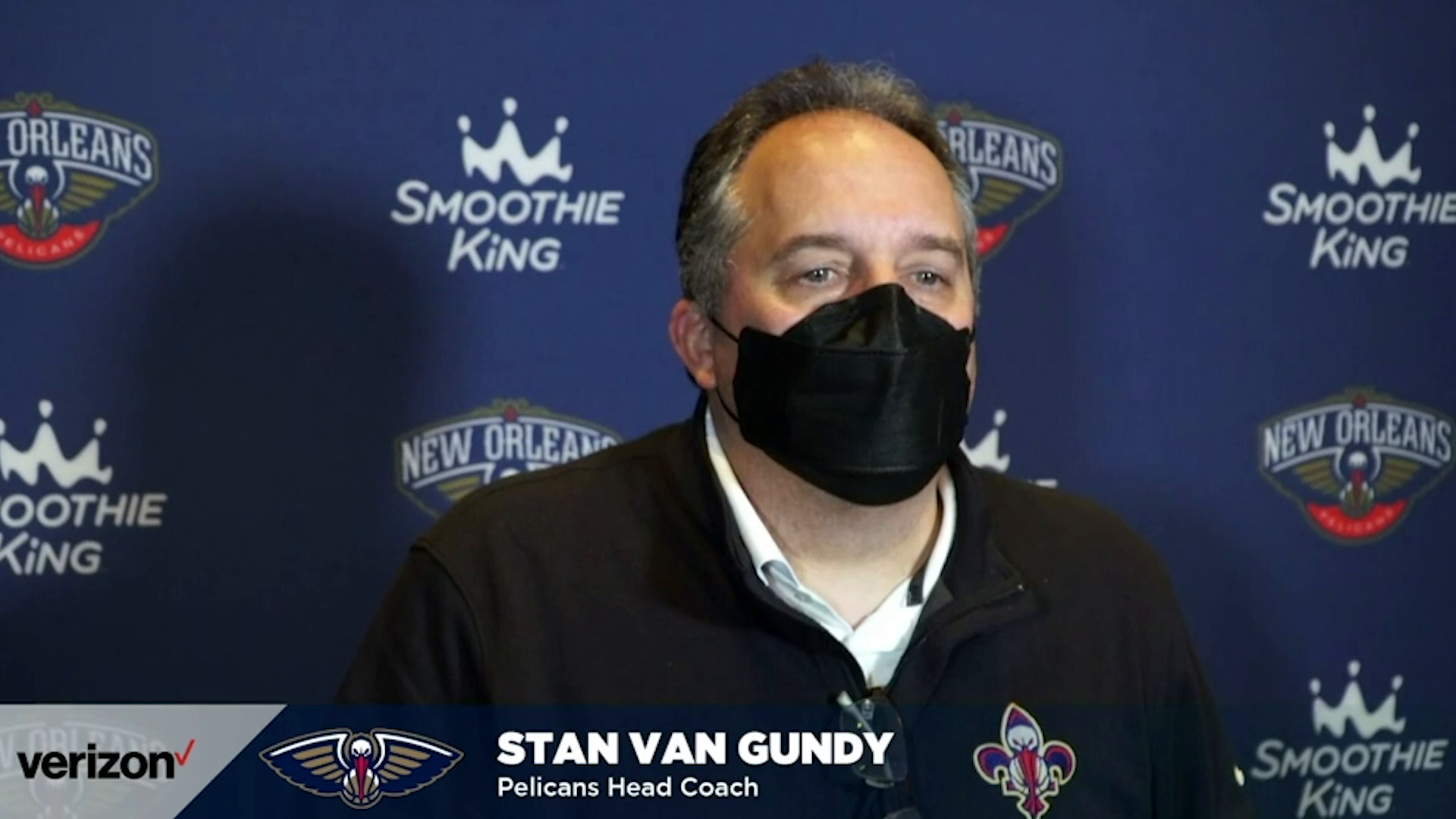 Pelicans- Kings Postgame Interview: Stan Van Gundy 4-12-21