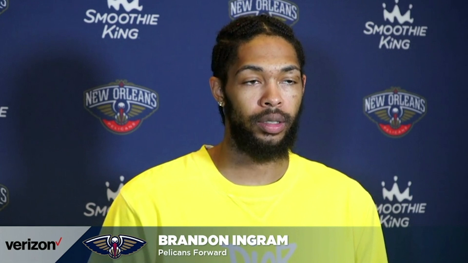 Pelicans- Kings Postgame Interview: Brandon Ingram 4-12-21