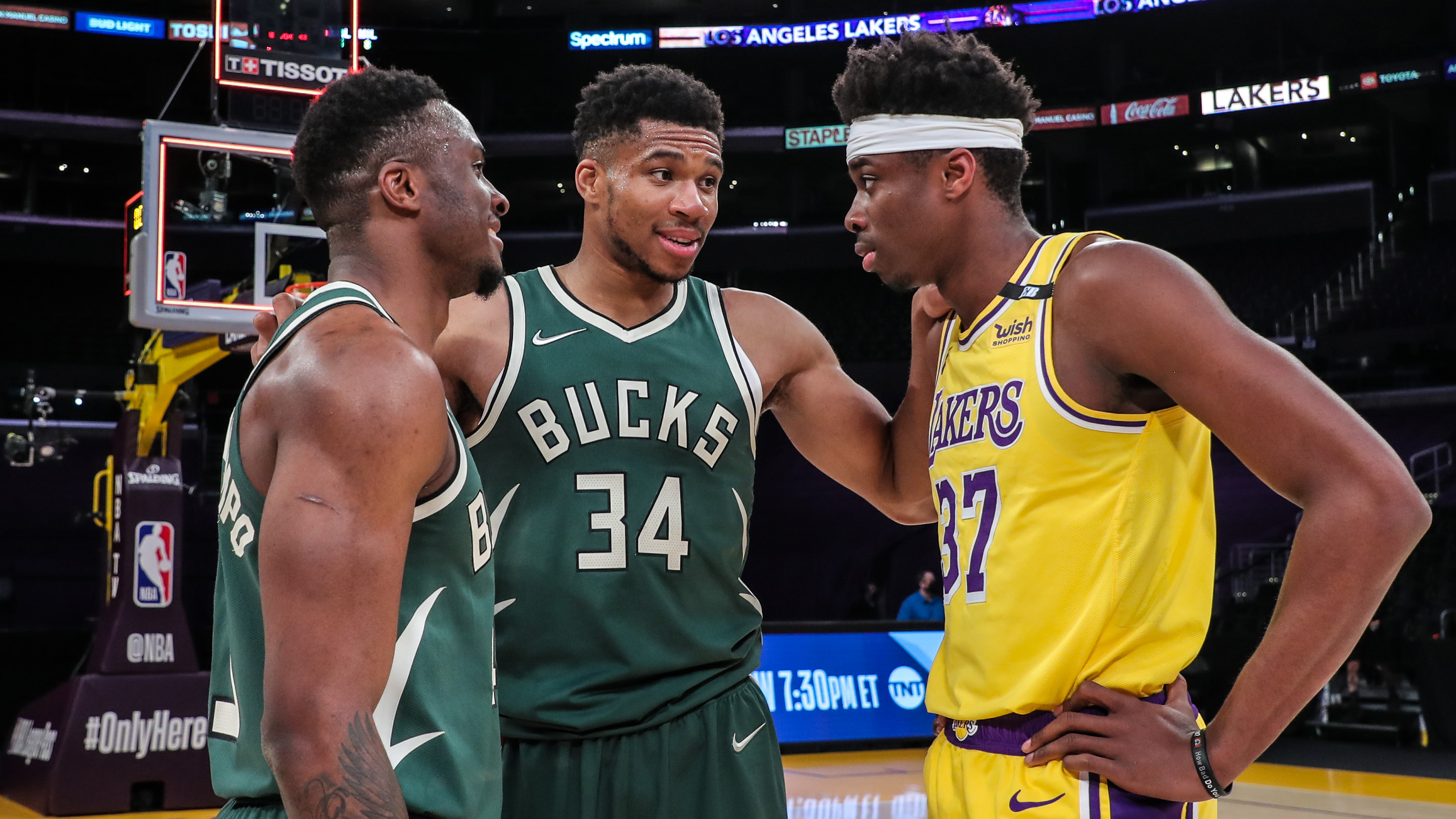 All-Access: Bucks Beat Lakers In LA, Giannis Antetokounmpo's Favorite NBA Moment