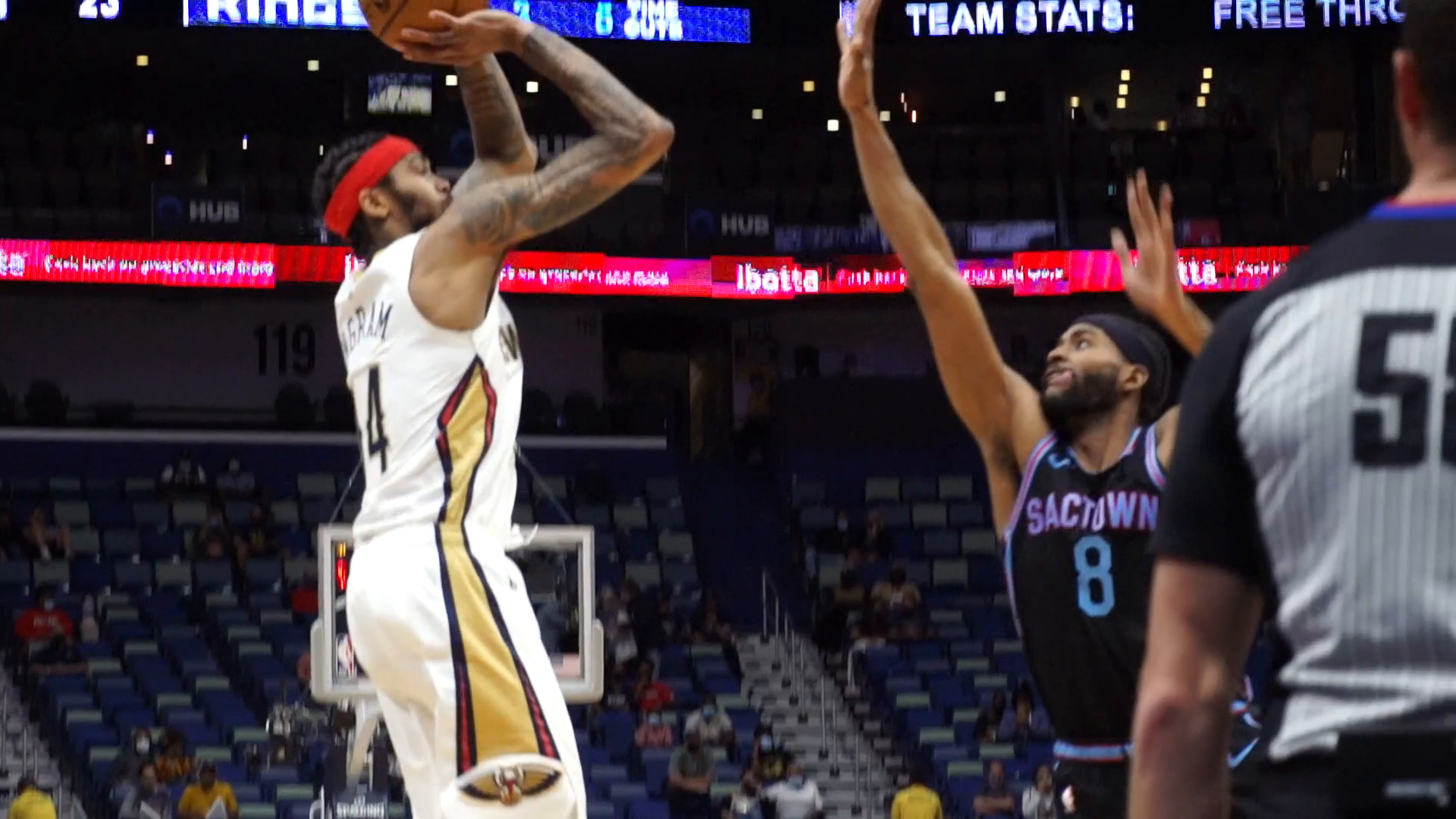 Pelicans vs. Kings Slo-Mo Highlights 4/12/21