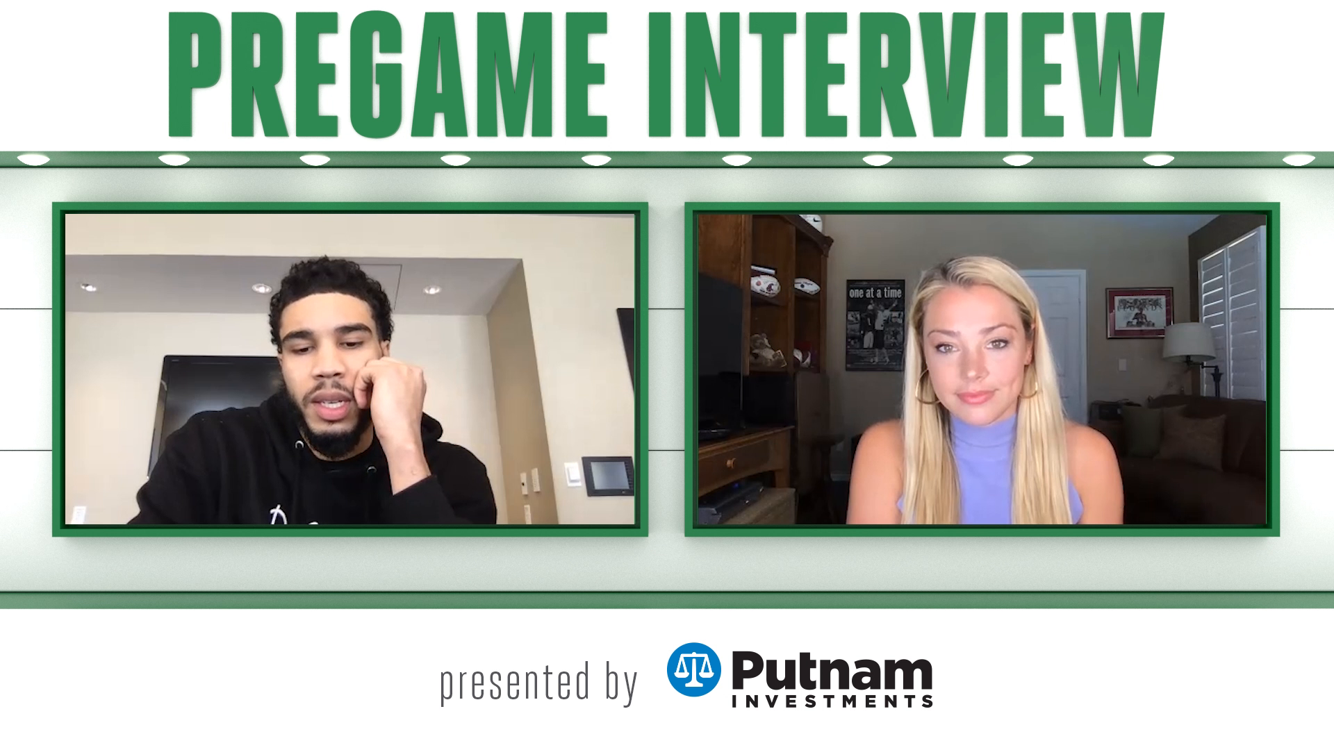 4/13 Putnam Pregame Interview: Player of the Week