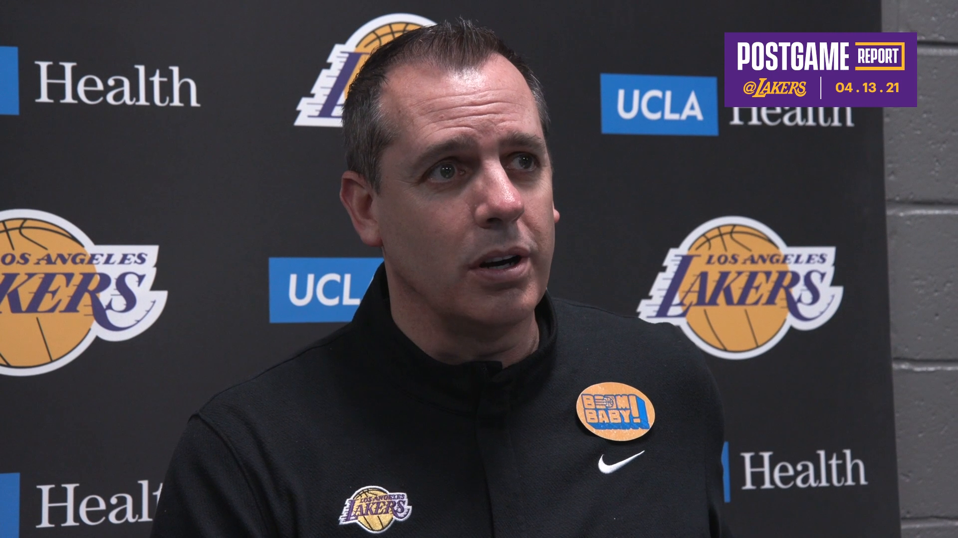 Lakers Postgame: Frank Vogel (4/13/21)
