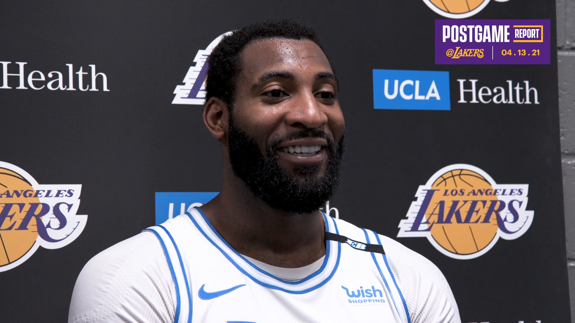 Lakers Postgame: Andre Drummond (4/13/21)