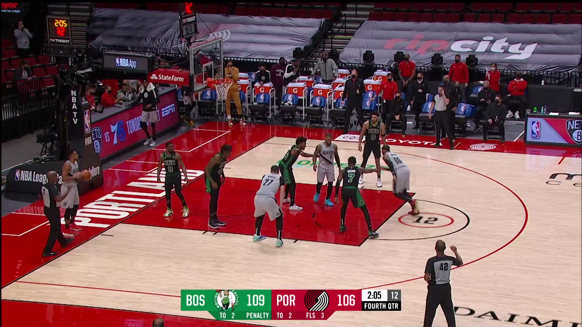 Trail Blazers 115, Celtics 116 | Game Highlights by McDelivery