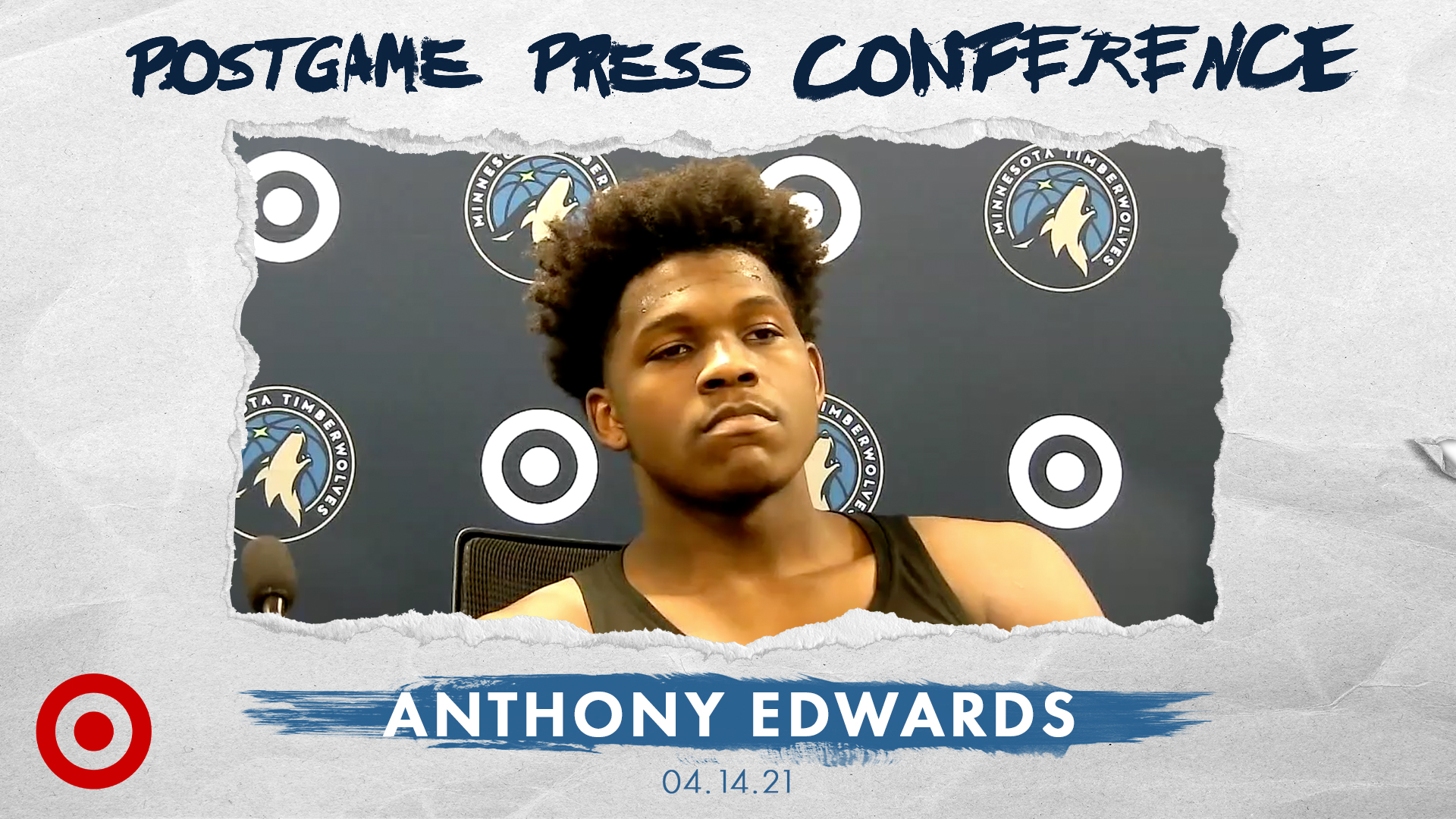 Anthony Edwards Postgame Press Conference - April 14, 2021