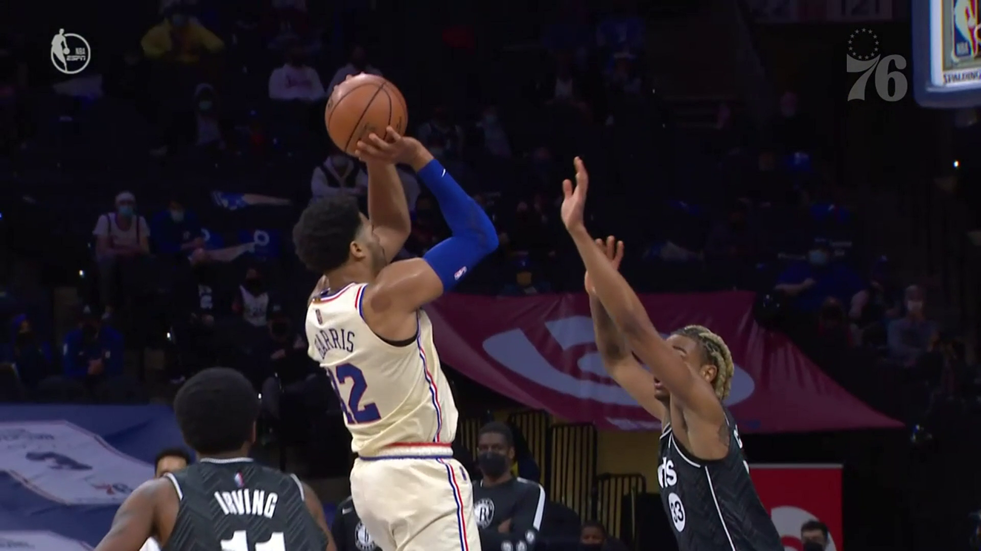 Tobias Harris | Highlights vs Brooklyn Nets (04.14.21)