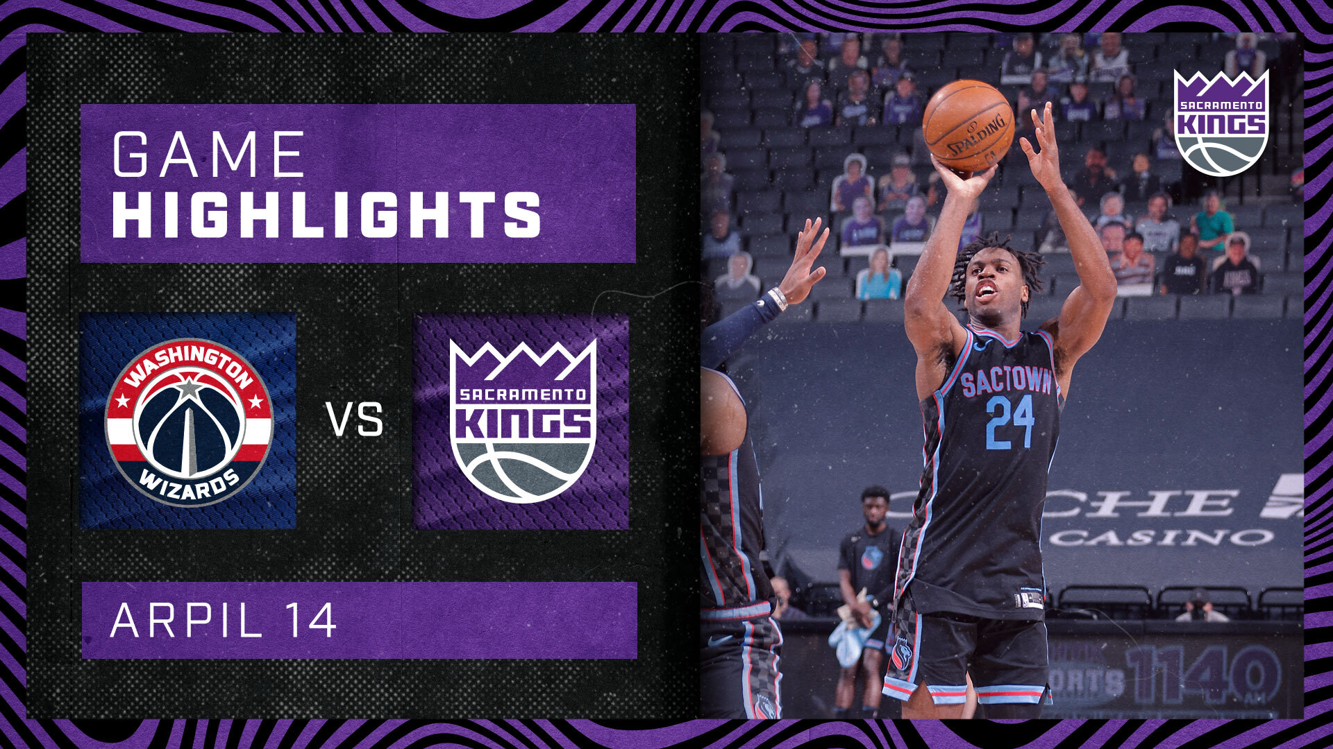 Capital BATTLE in Sactown | Kings vs Wizards 4.14.21