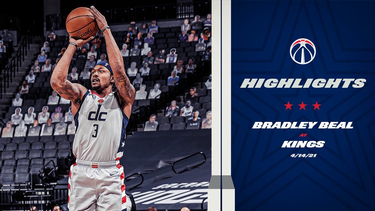 Highlights: Bradley Beal at Kings - 4/14/21