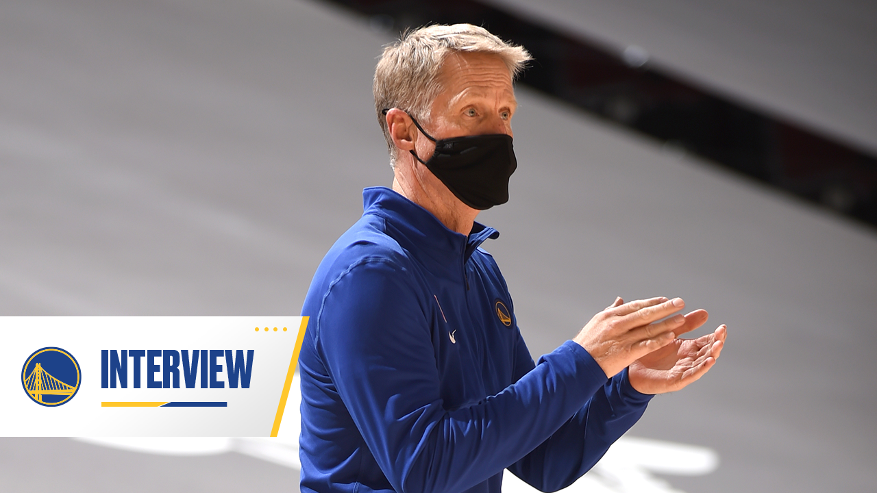 Postgame Warriors Talk: Steve Kerr - 4/14/21