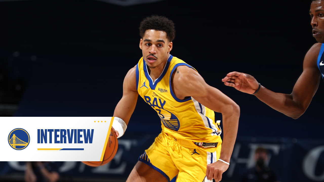Postgame Warriors Talk: Jordan Poole - 4/14/21