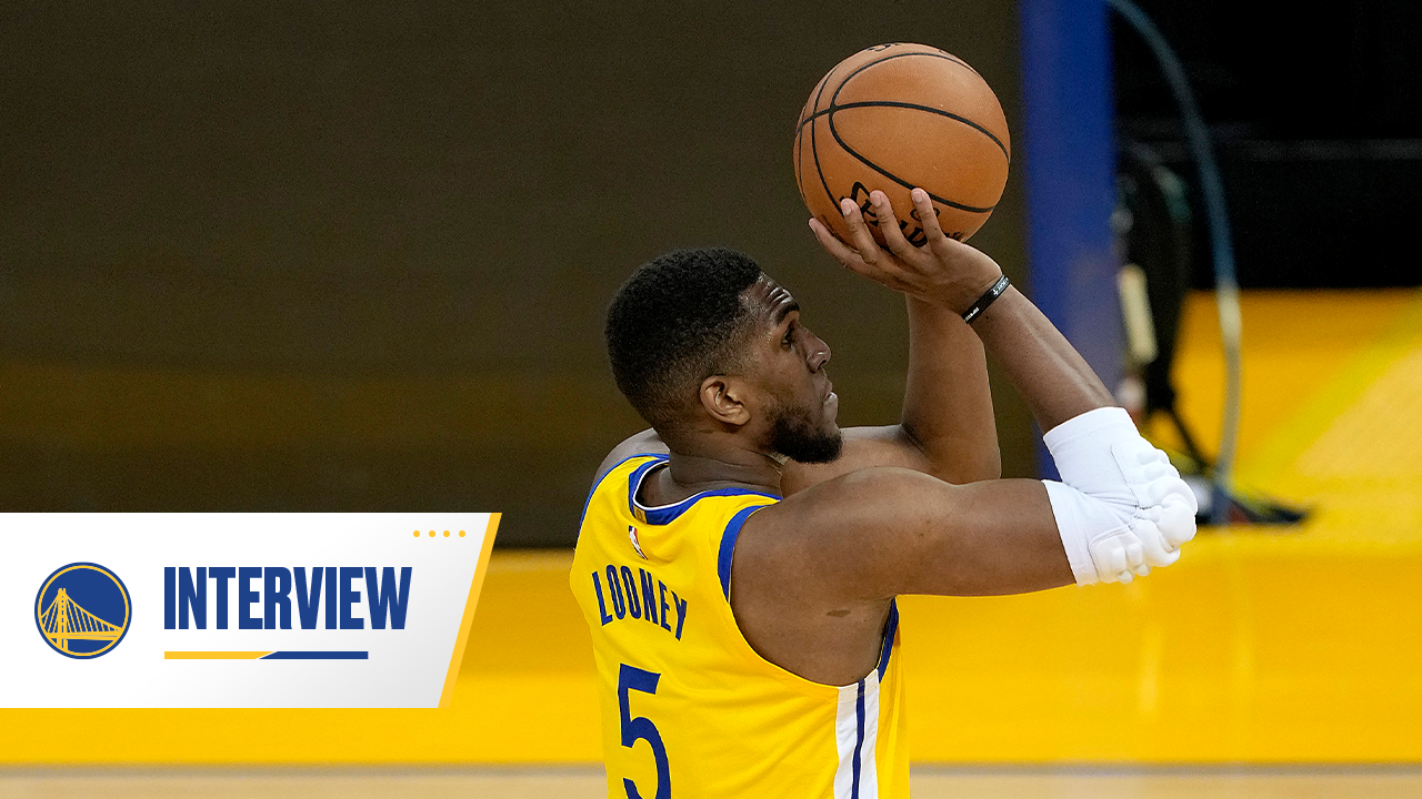 Postgame Warriors Talk: Kevon Looney - 4/14/21