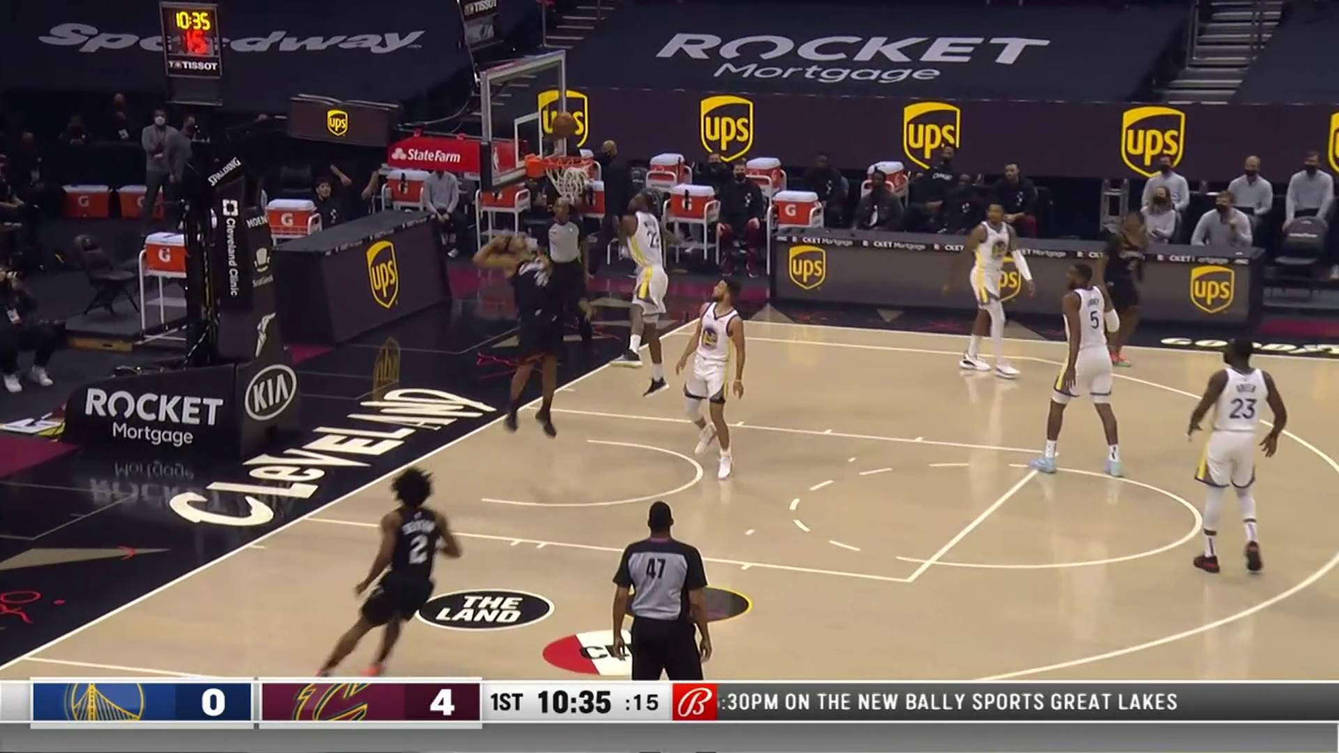 Allen Finds Okoro for Two